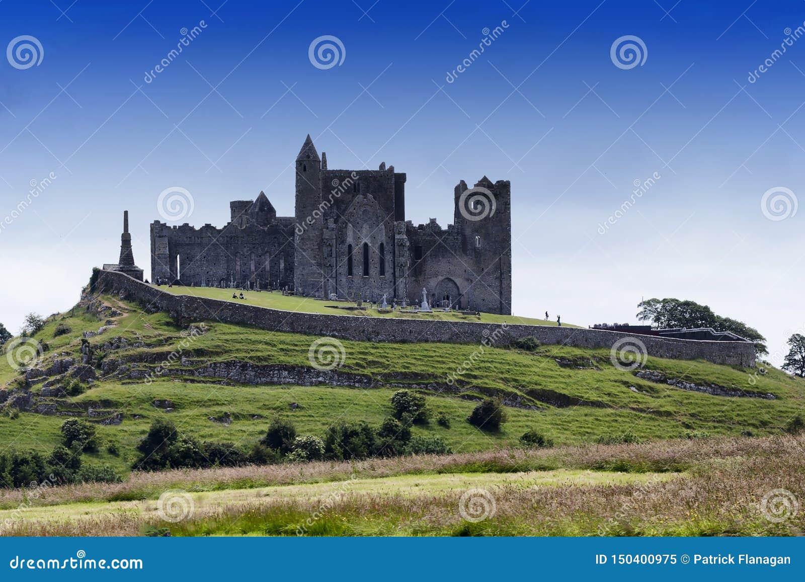 Widok skała Cashel w Irlandia
