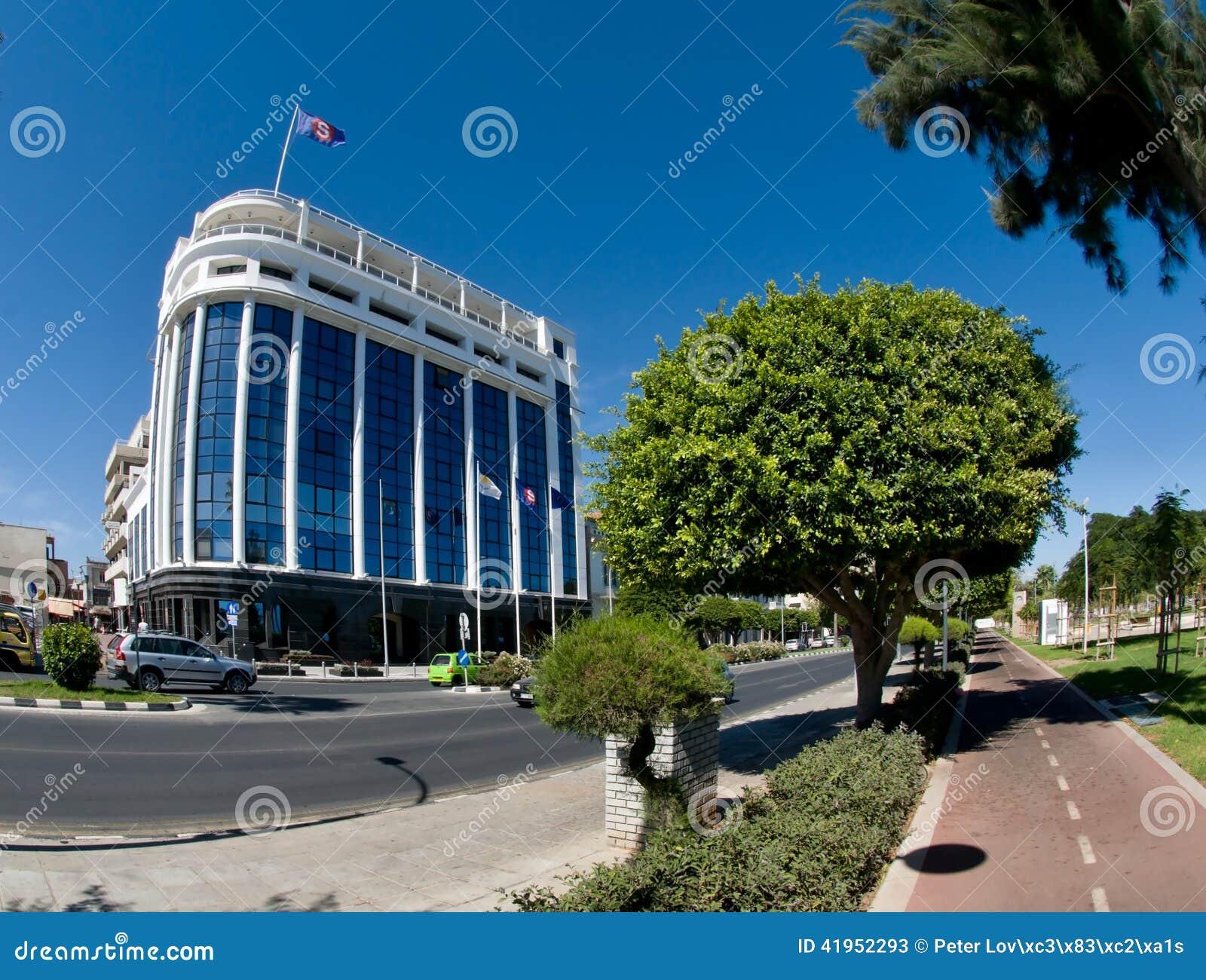 Widok ulica, Limassol, Cypr