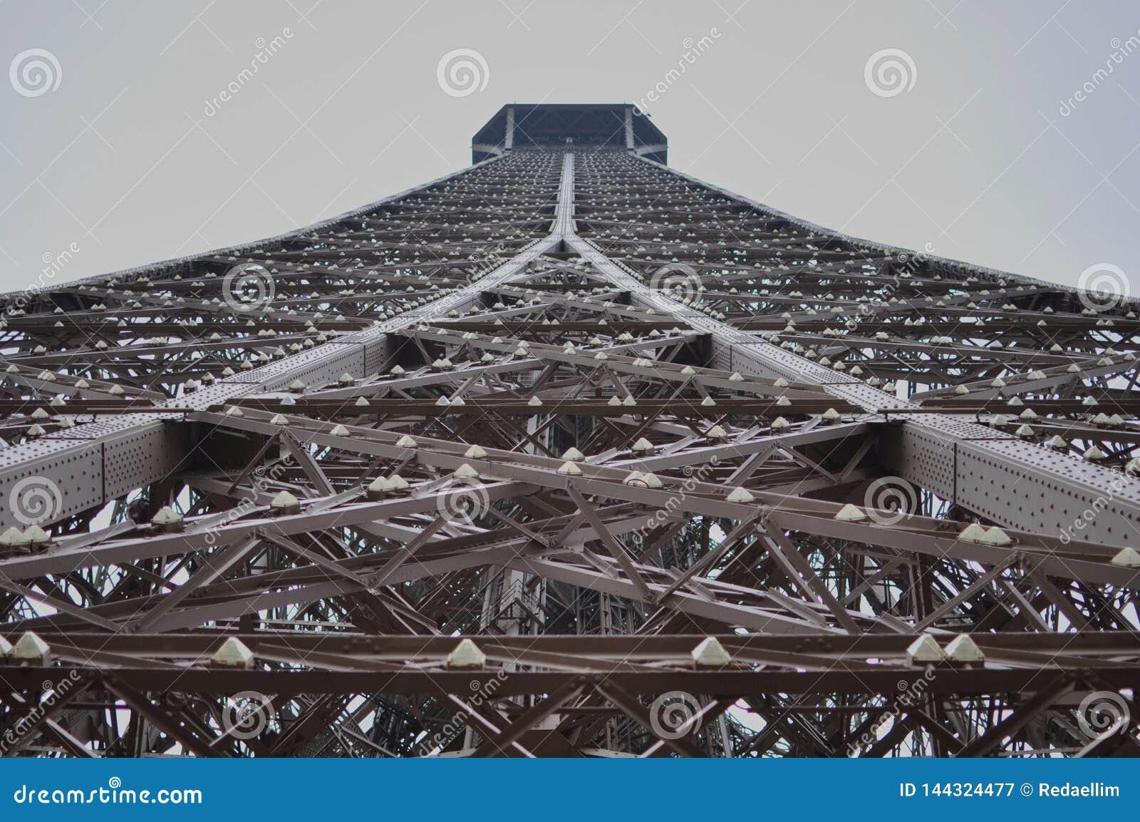 Widok wycieczka turysyczna Eiffel, Paryż, Francja