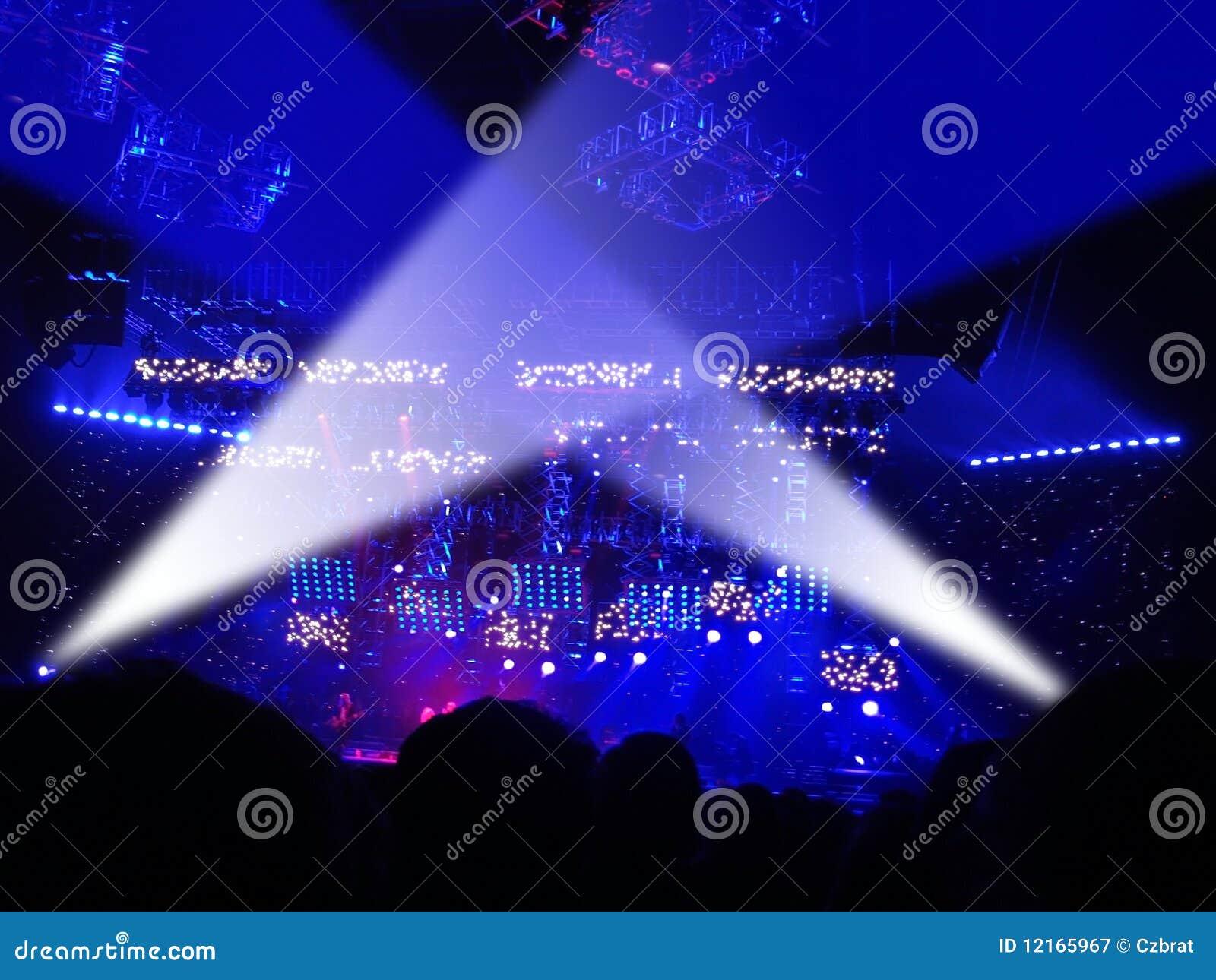 Widownia koncert