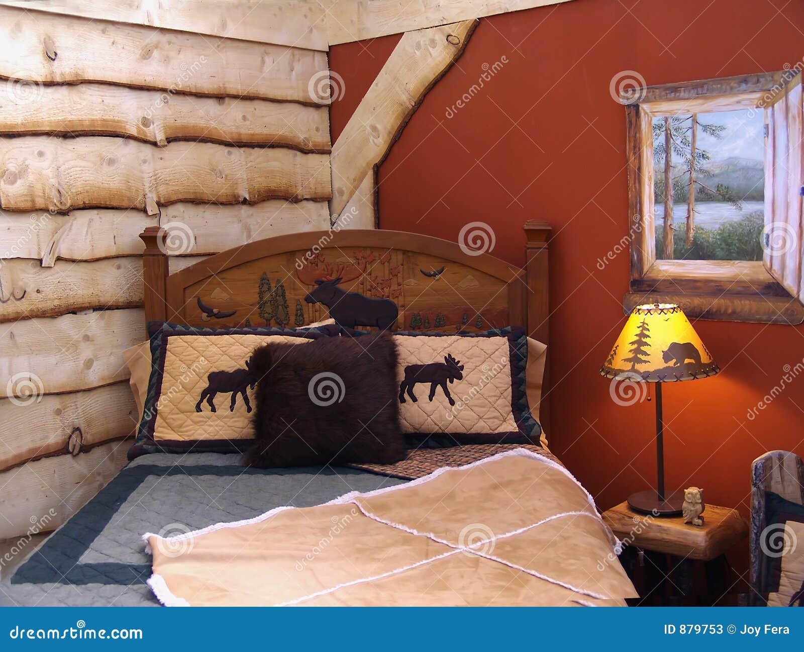 Wieśniak w sypialni