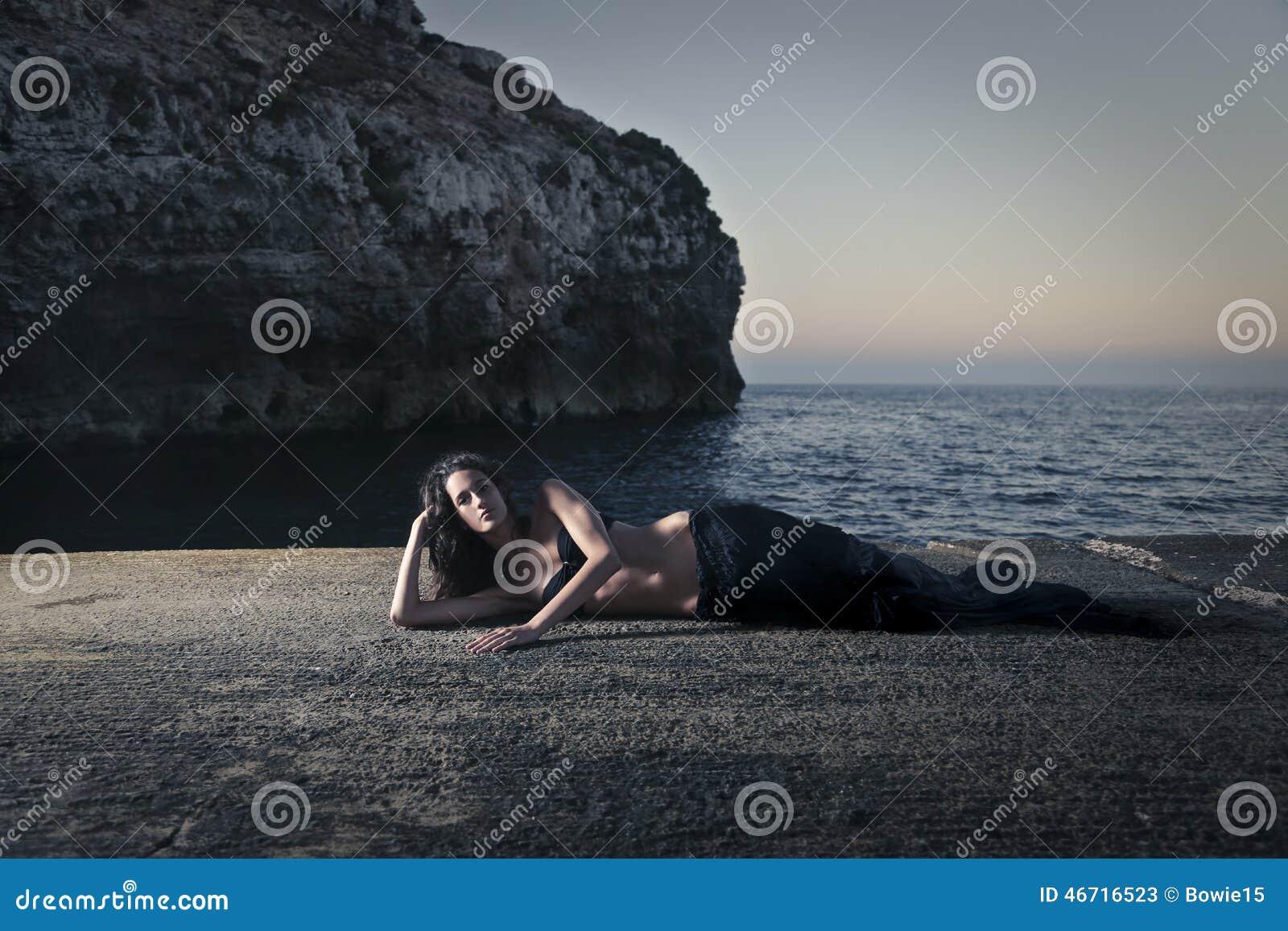 Wie eine Meerjungfrau