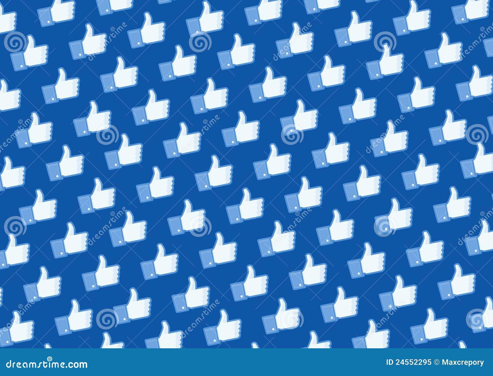Wie Facebook Zeichenwand