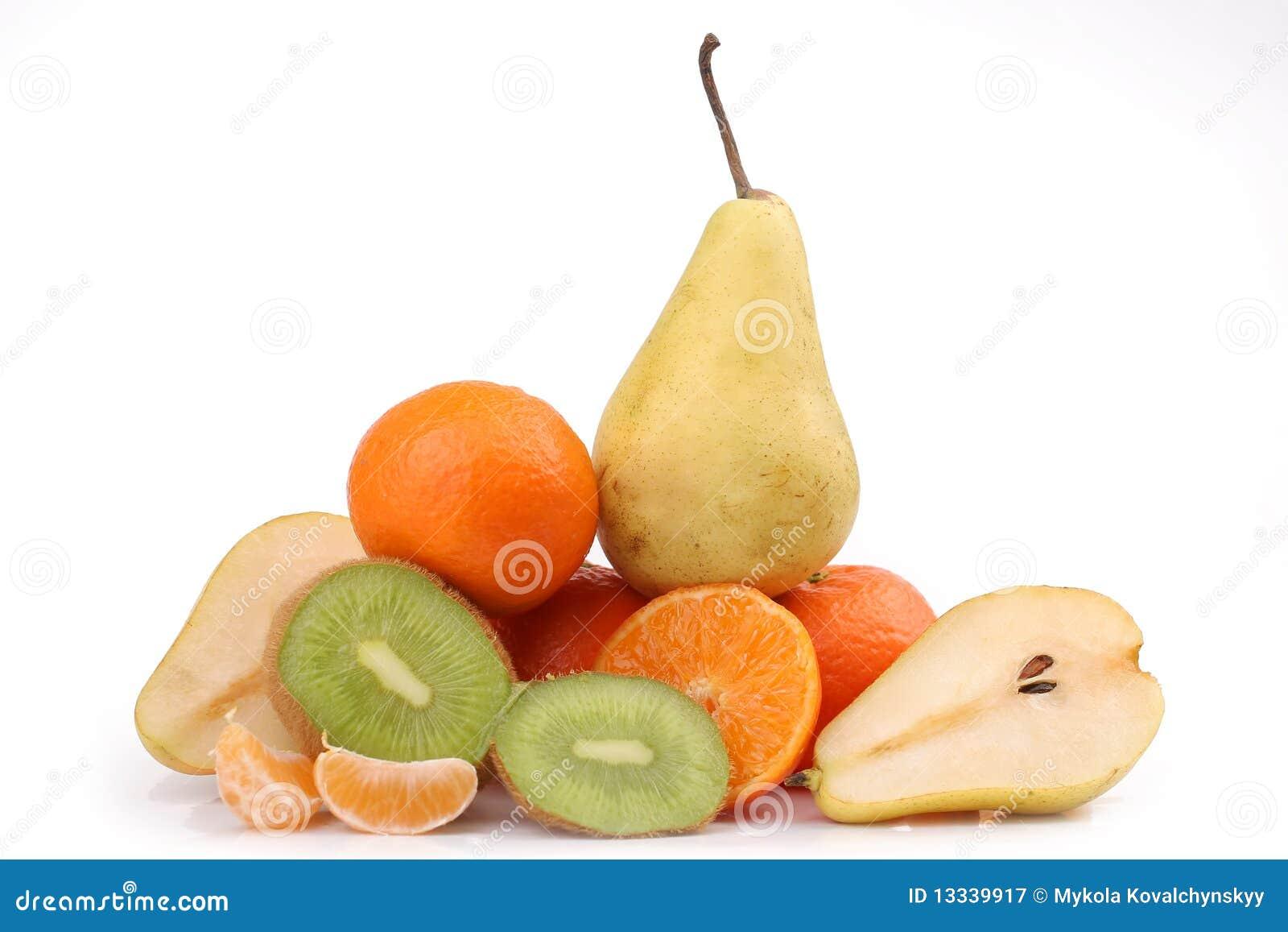 świeża kiwi pomarańcze bonkreta