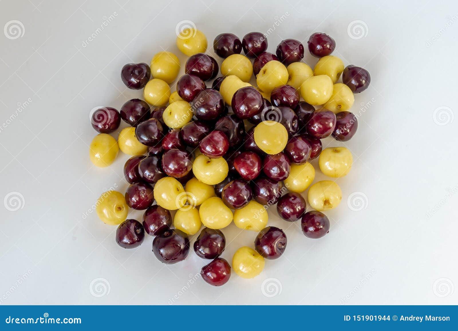 ?wie?a t?o wi?nia Makro- szczegół, odosobneni cherryes knedle t?a jedzenie mi?sa bardzo wiele