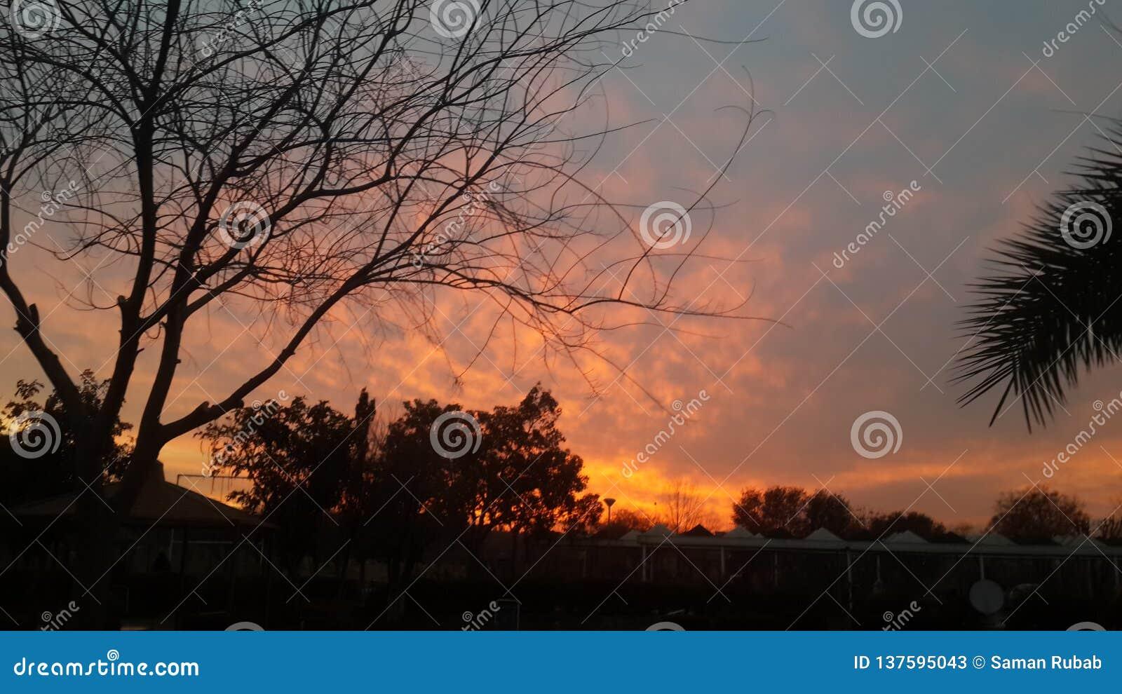 Wieczór Islamabad Pakistan
