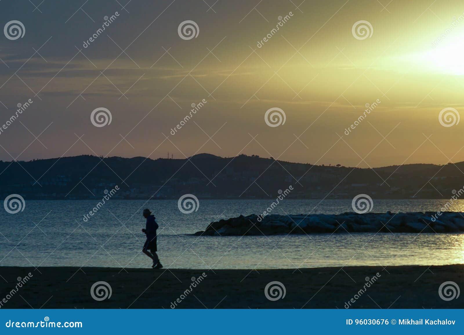 Wieczór na plaży