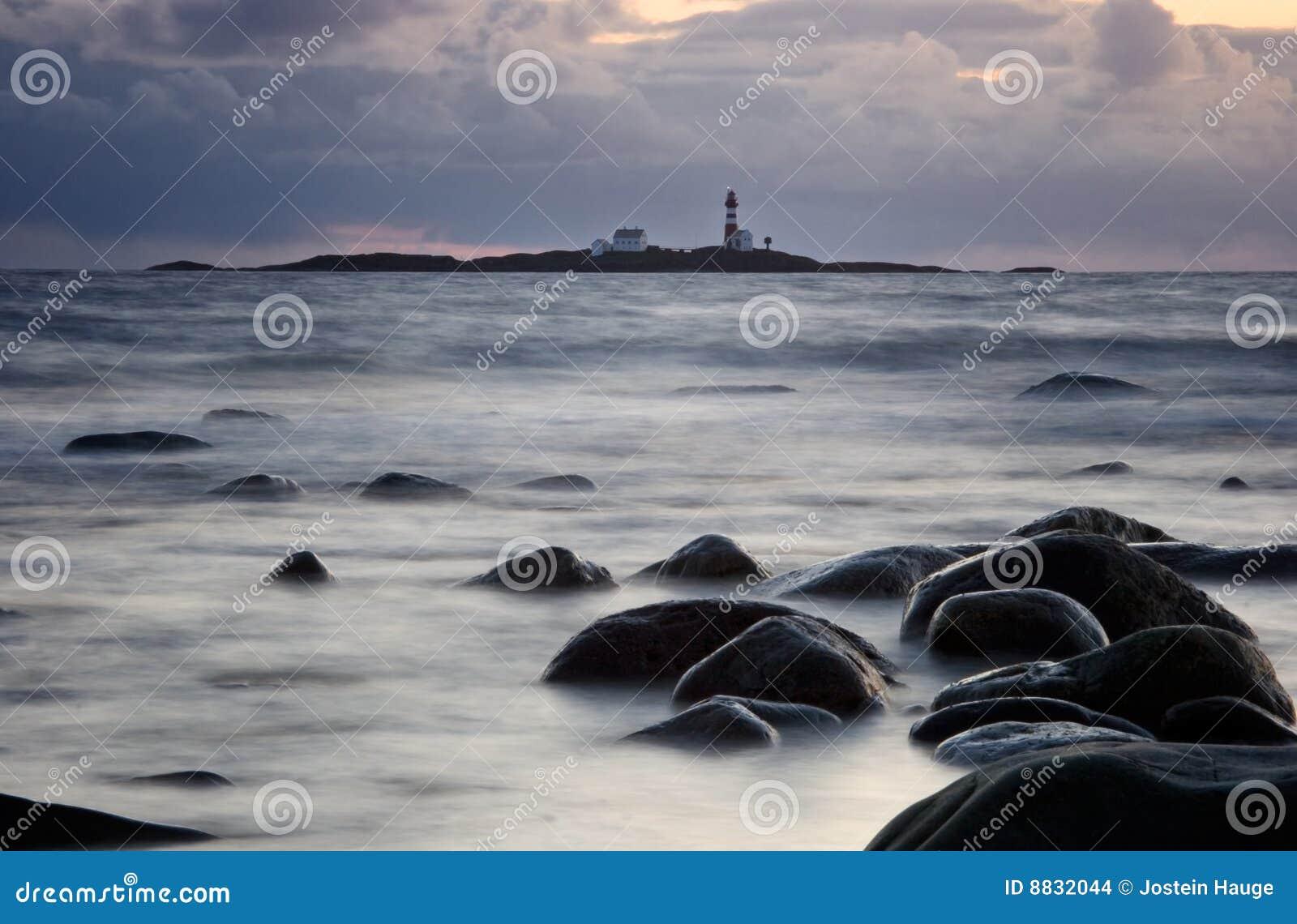 Wieczór ocean