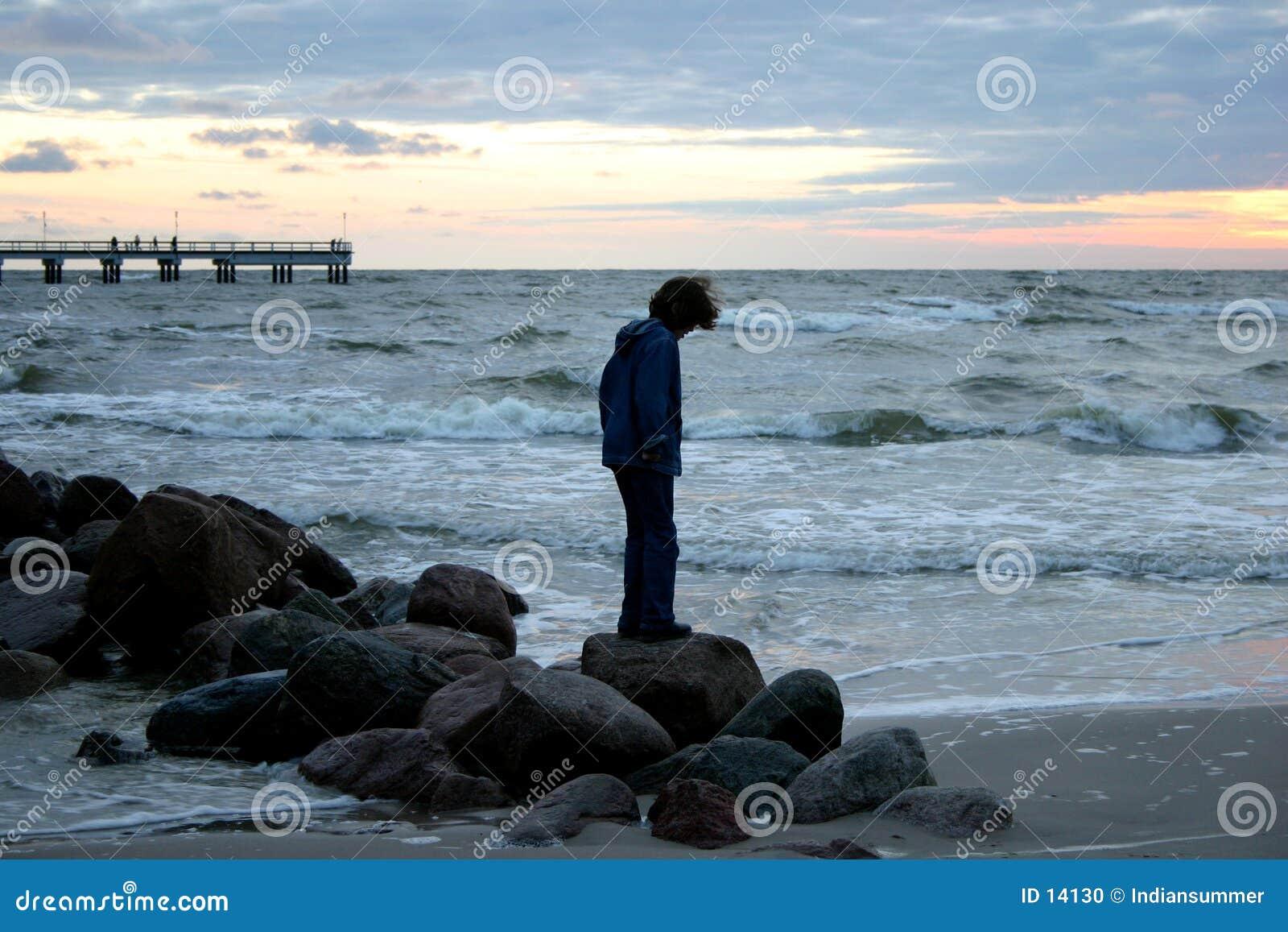 Wieczorem iii morza