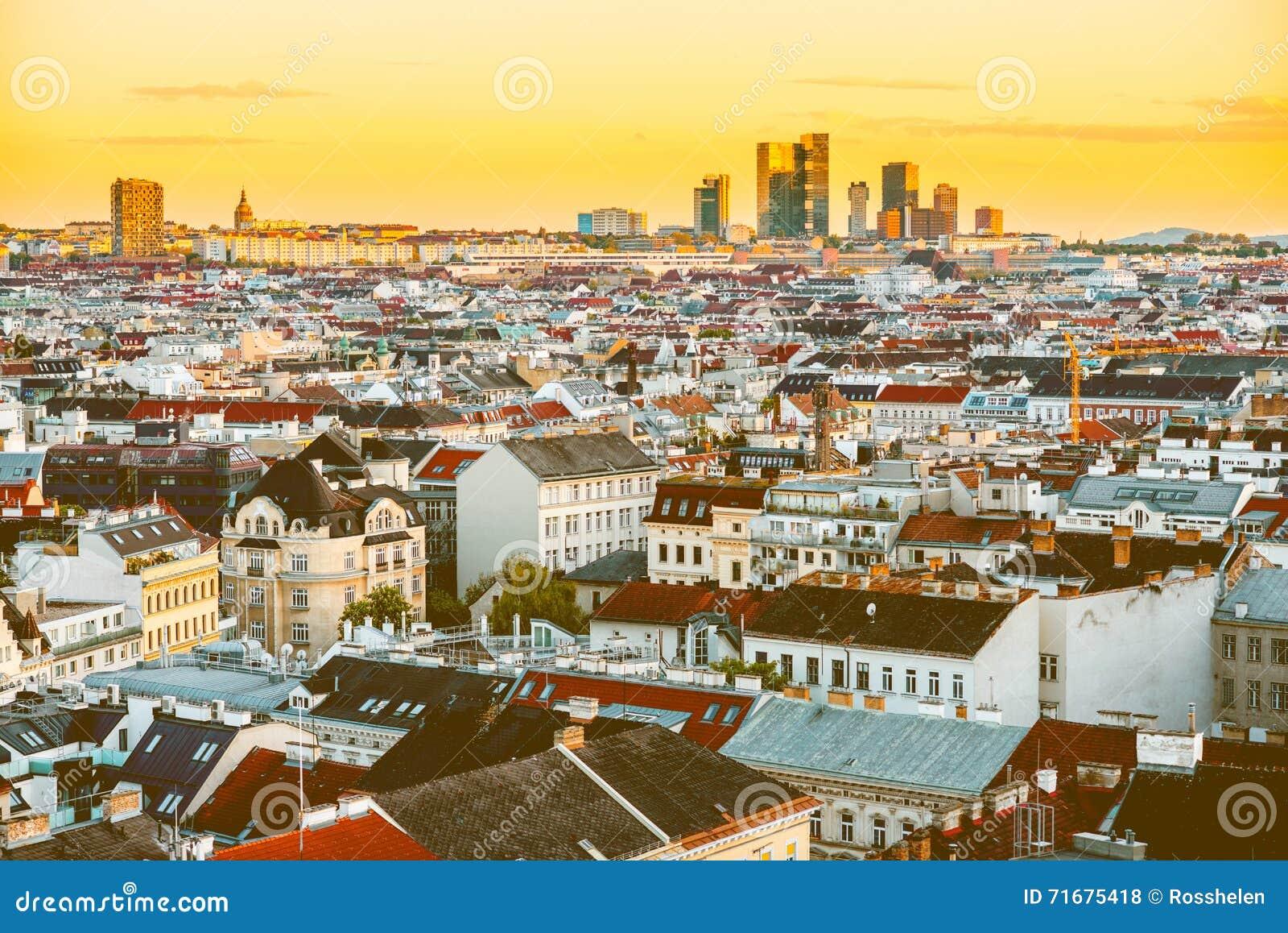 Wiedeń pejzaż miejski w Austria