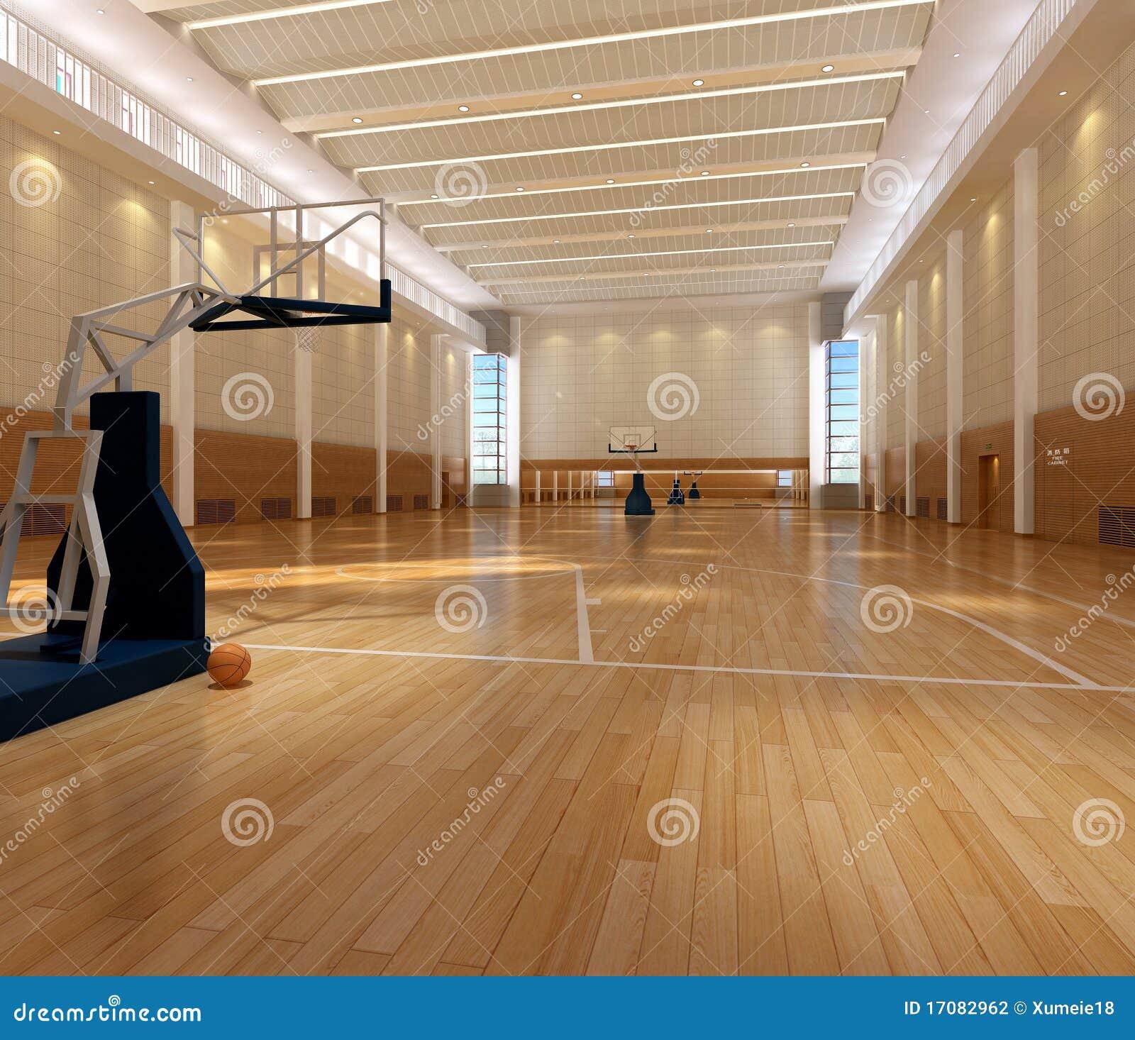 Wiedergabe-Basketballplatz