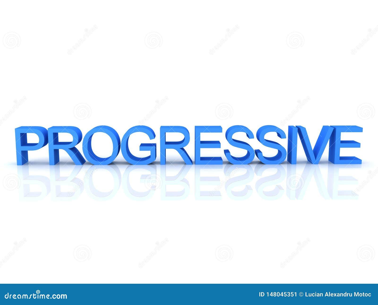 Was Bedeutet Progressiv