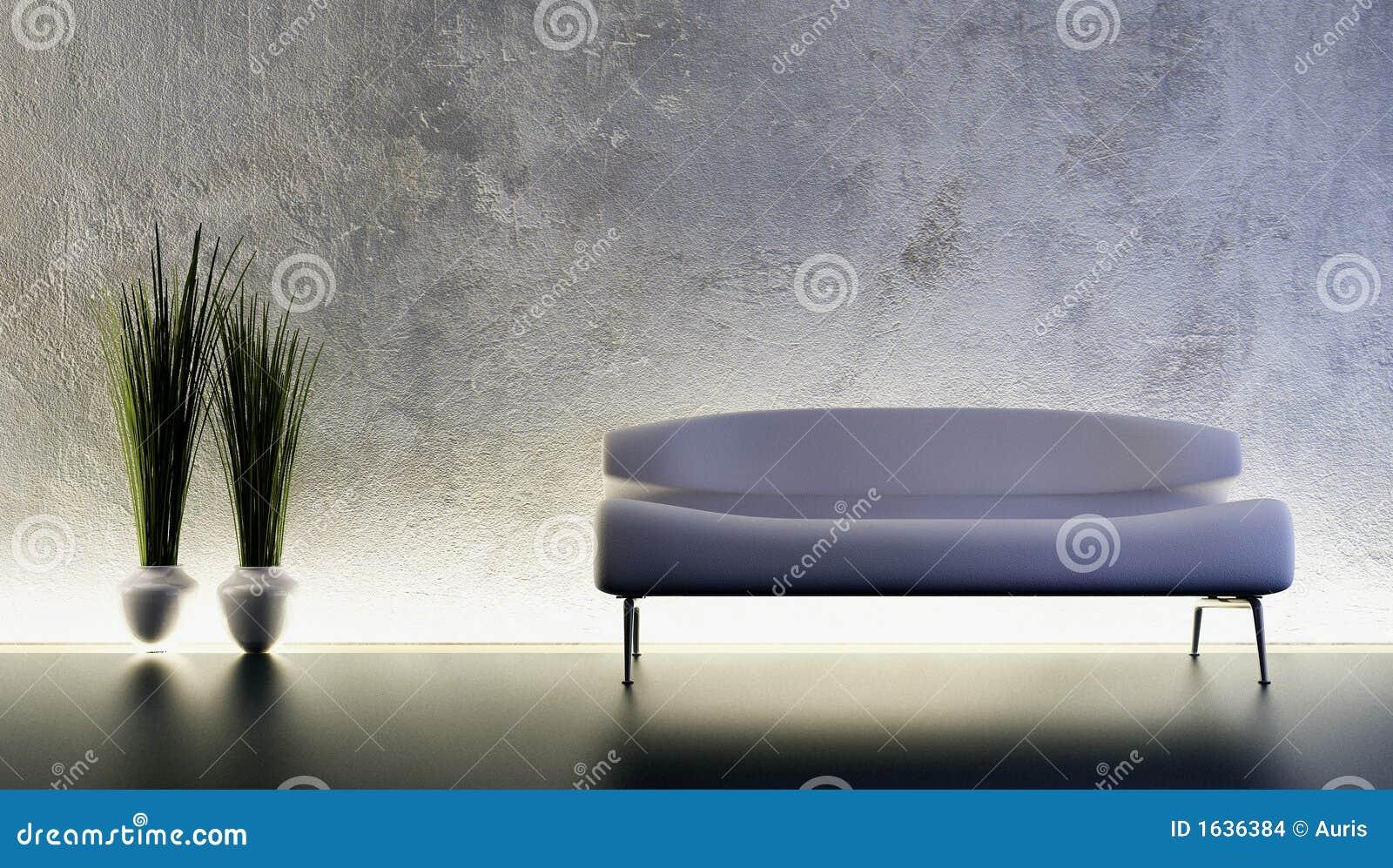 Wiedergabe des Sofas 3D