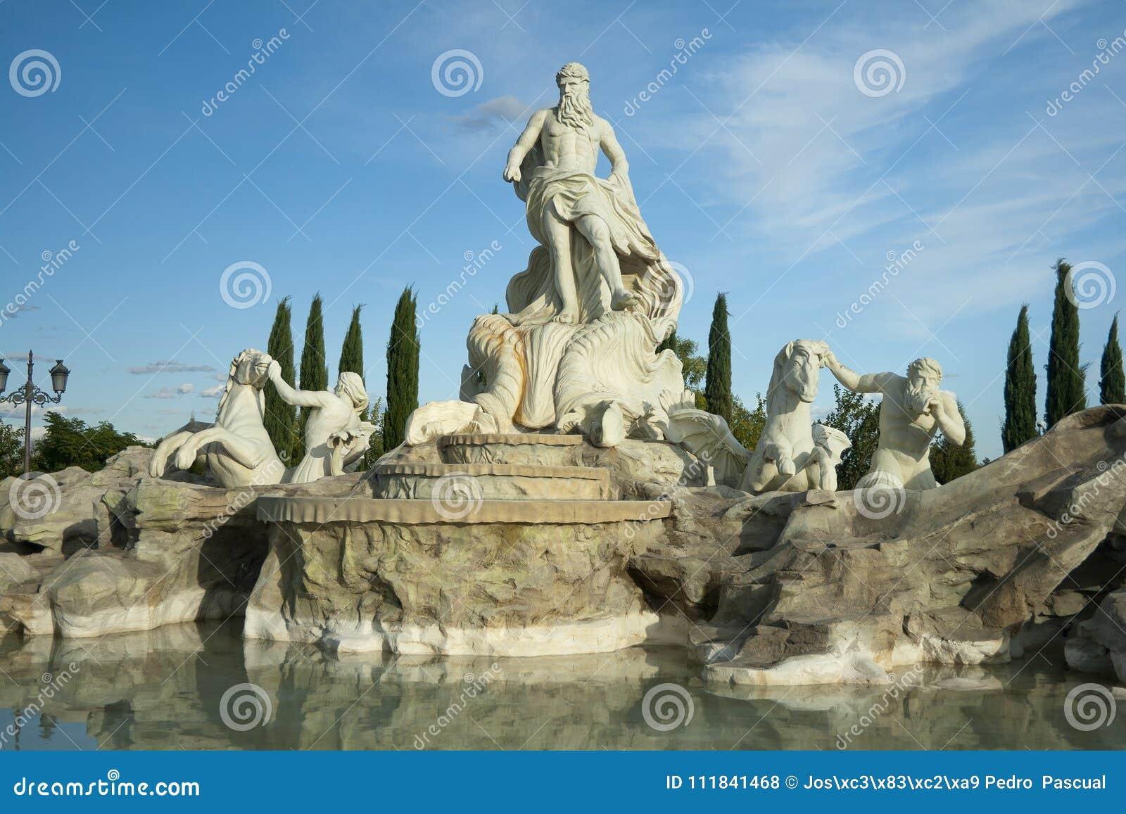 Wiedergabe Fontanas di trevi Parque de Europa