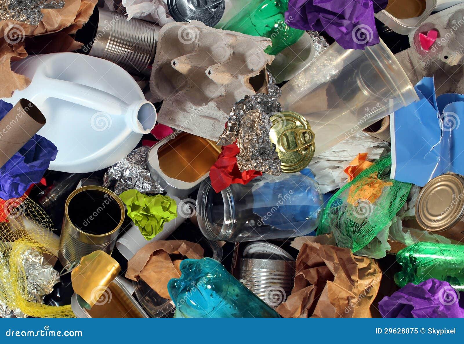 Wiederverwertung des Abfalls