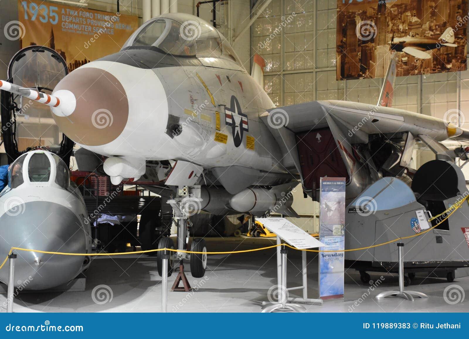 Wiege des Luftfahrt-Museums auf Long Island in New York, USA