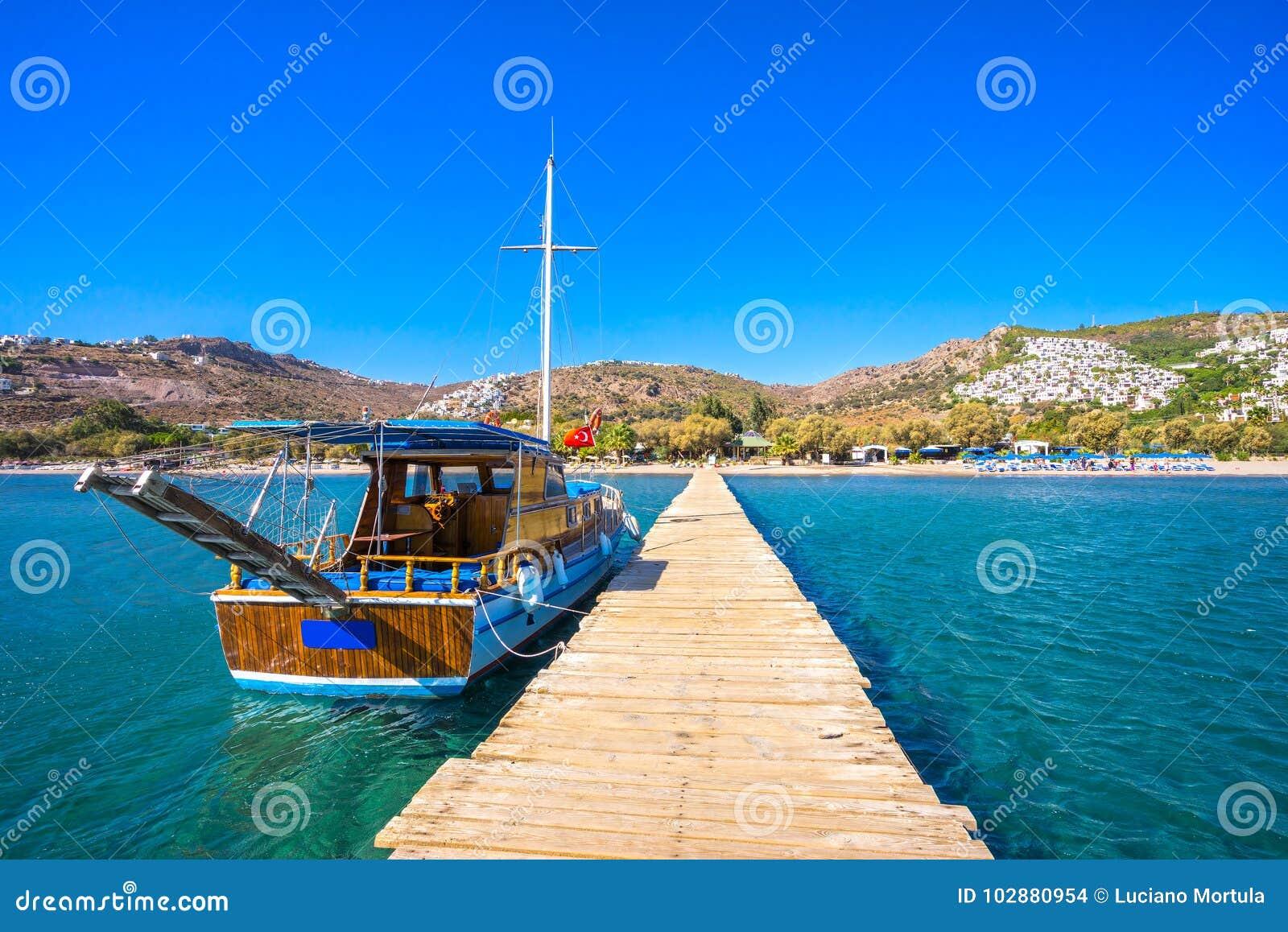 Wielbłąd plaża, Bodrum, Turcja