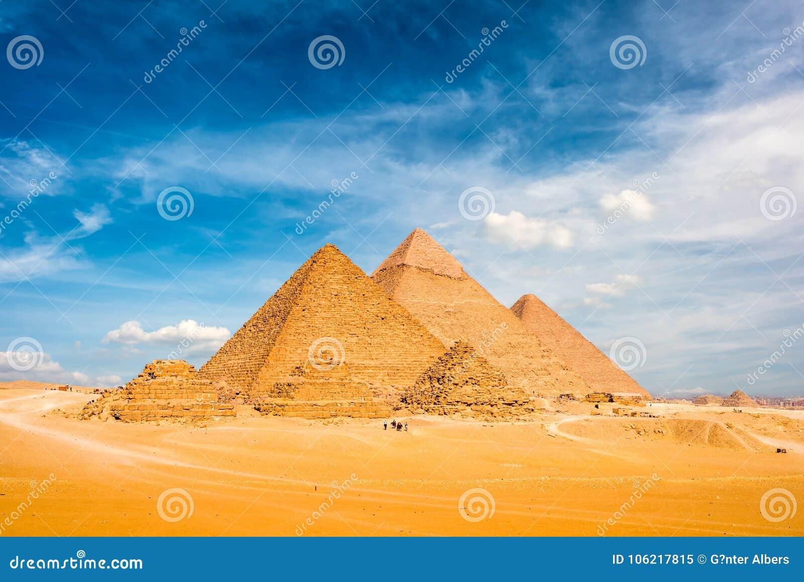 Wielcy Giza ostrosłupy