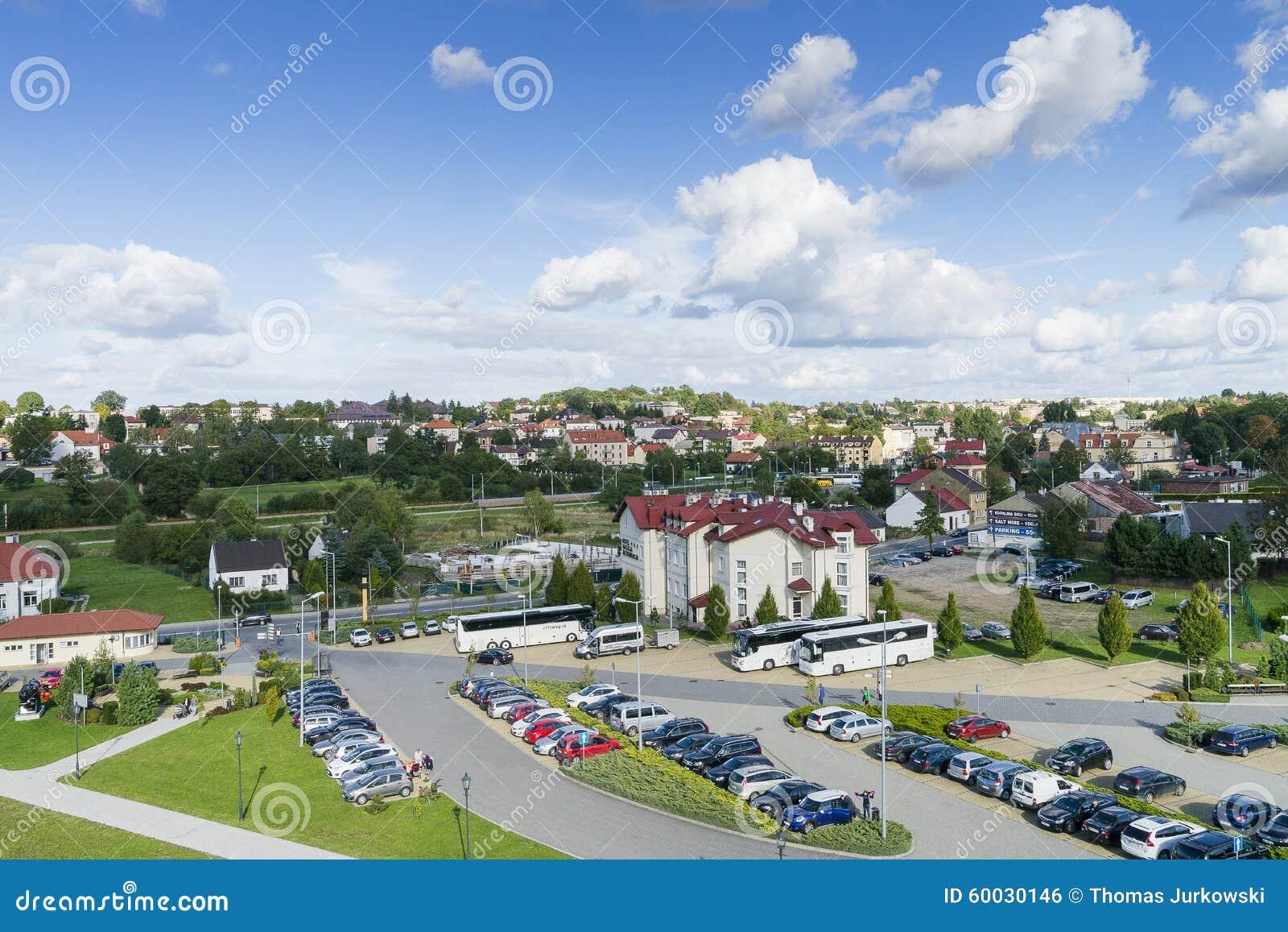 Wieliczkastad in Polen