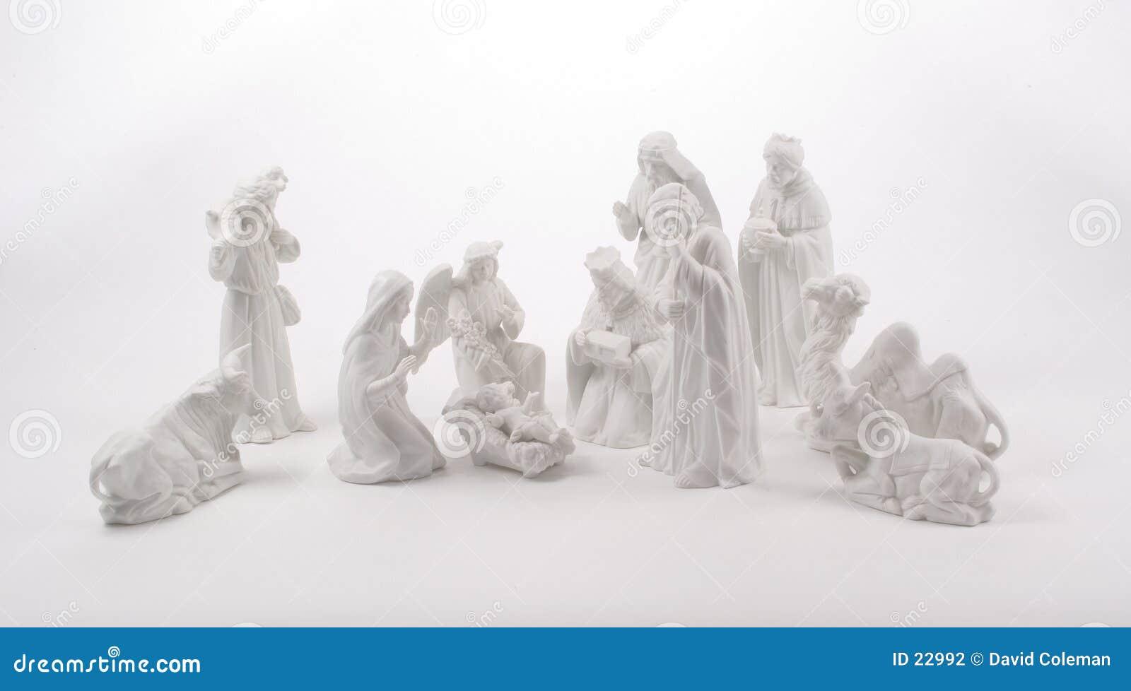 Wielka scena narodzenie jezusa