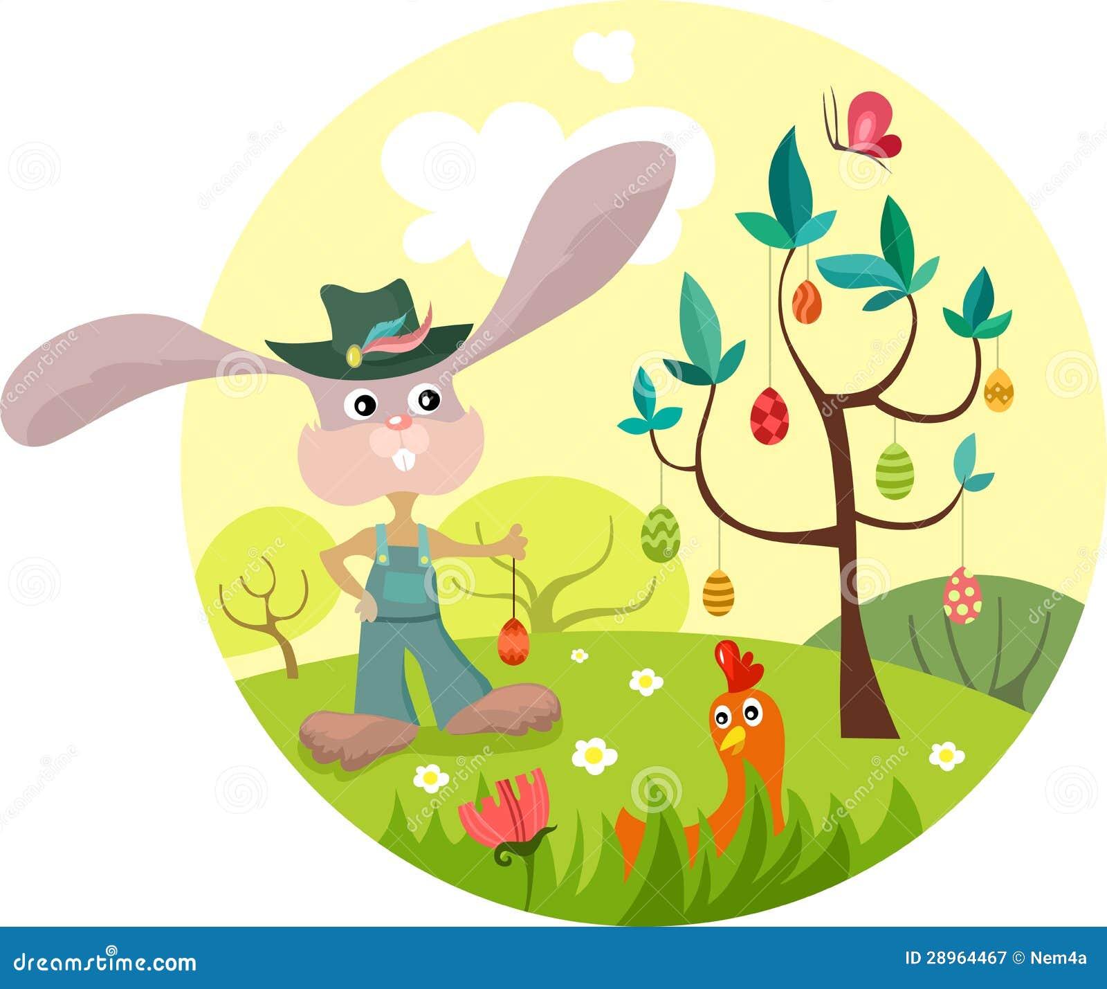 Wielkanocna ilustracja