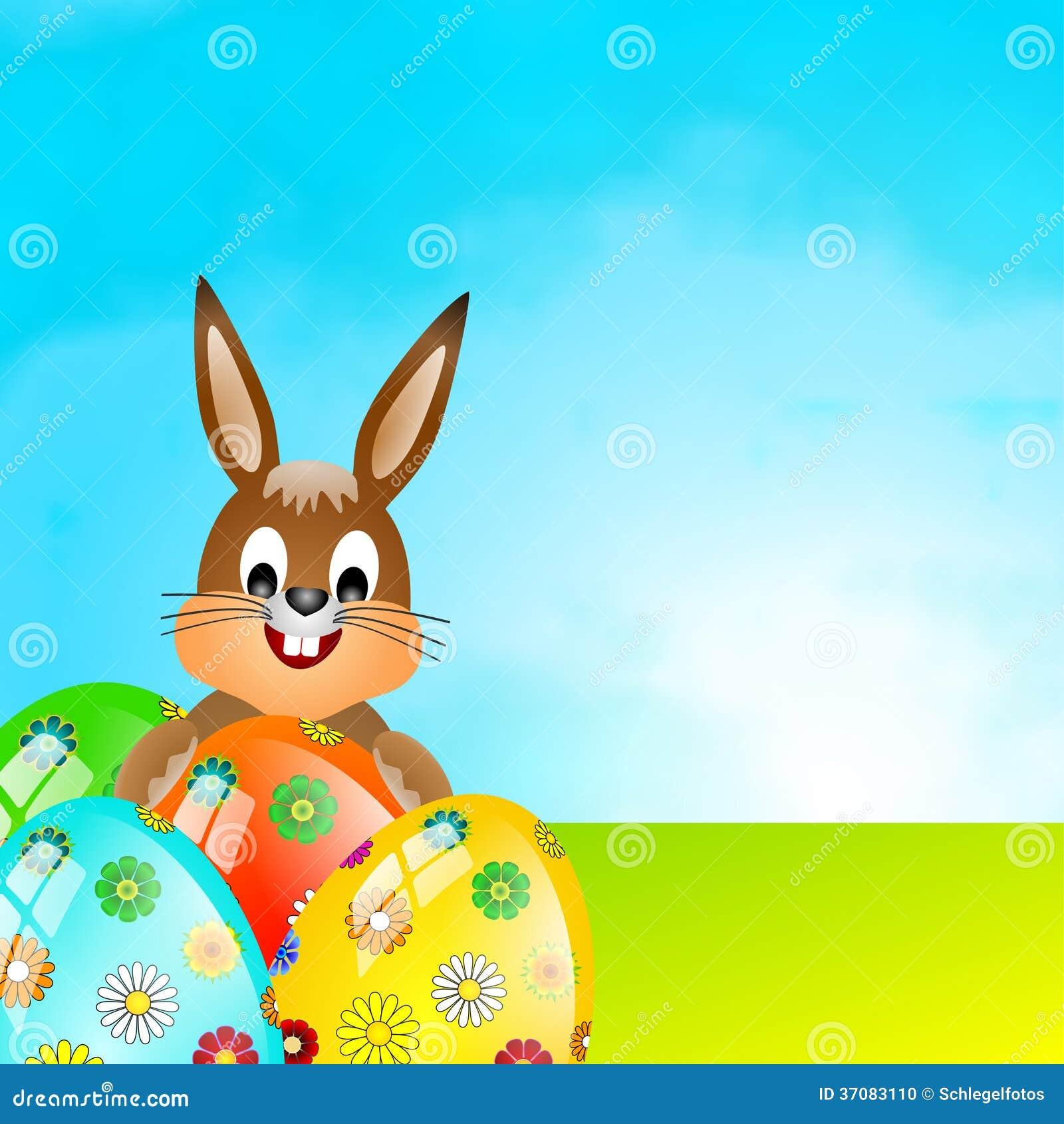 Download Wielkanocnego jajka tło ilustracji. Ilustracja złożonej z jaskrawy - 37083110