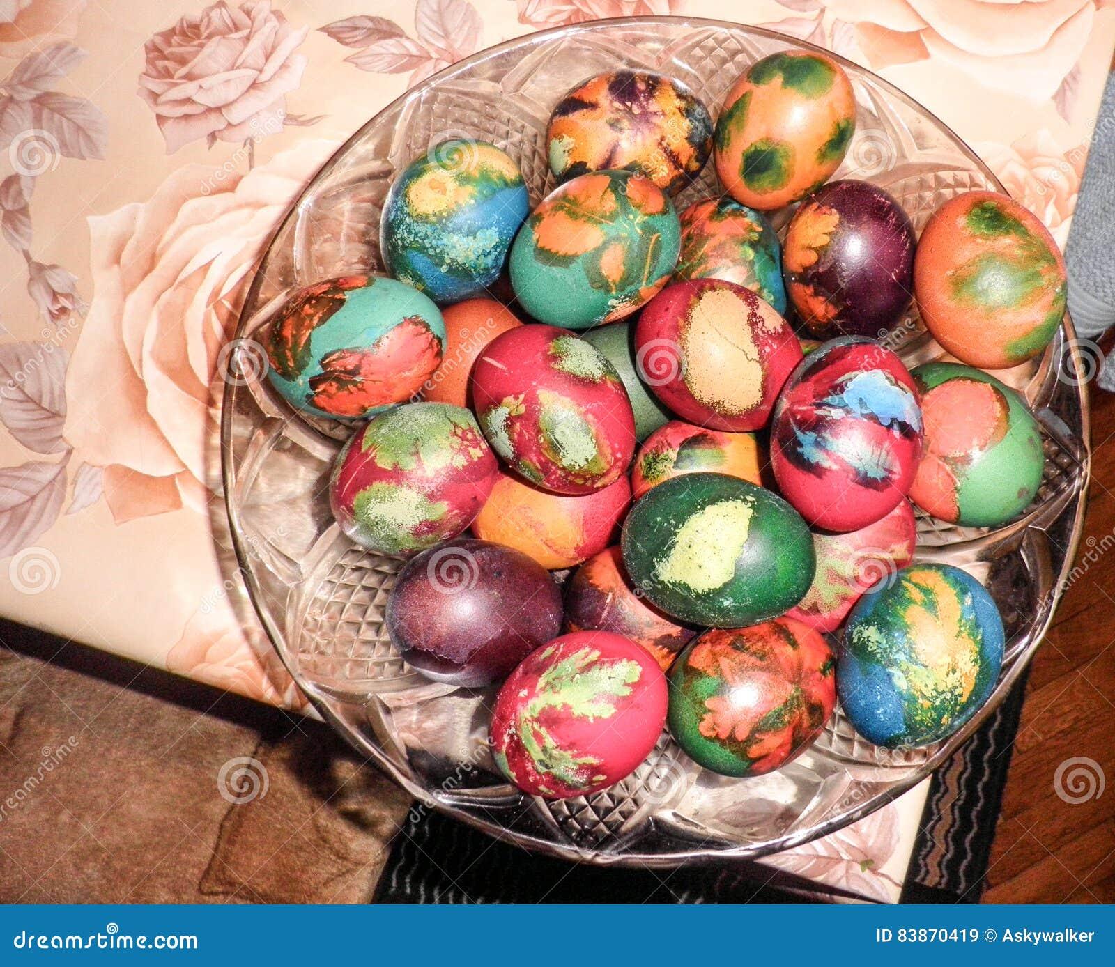 Wielkanocni jajka przygotowywający dla bitwy
