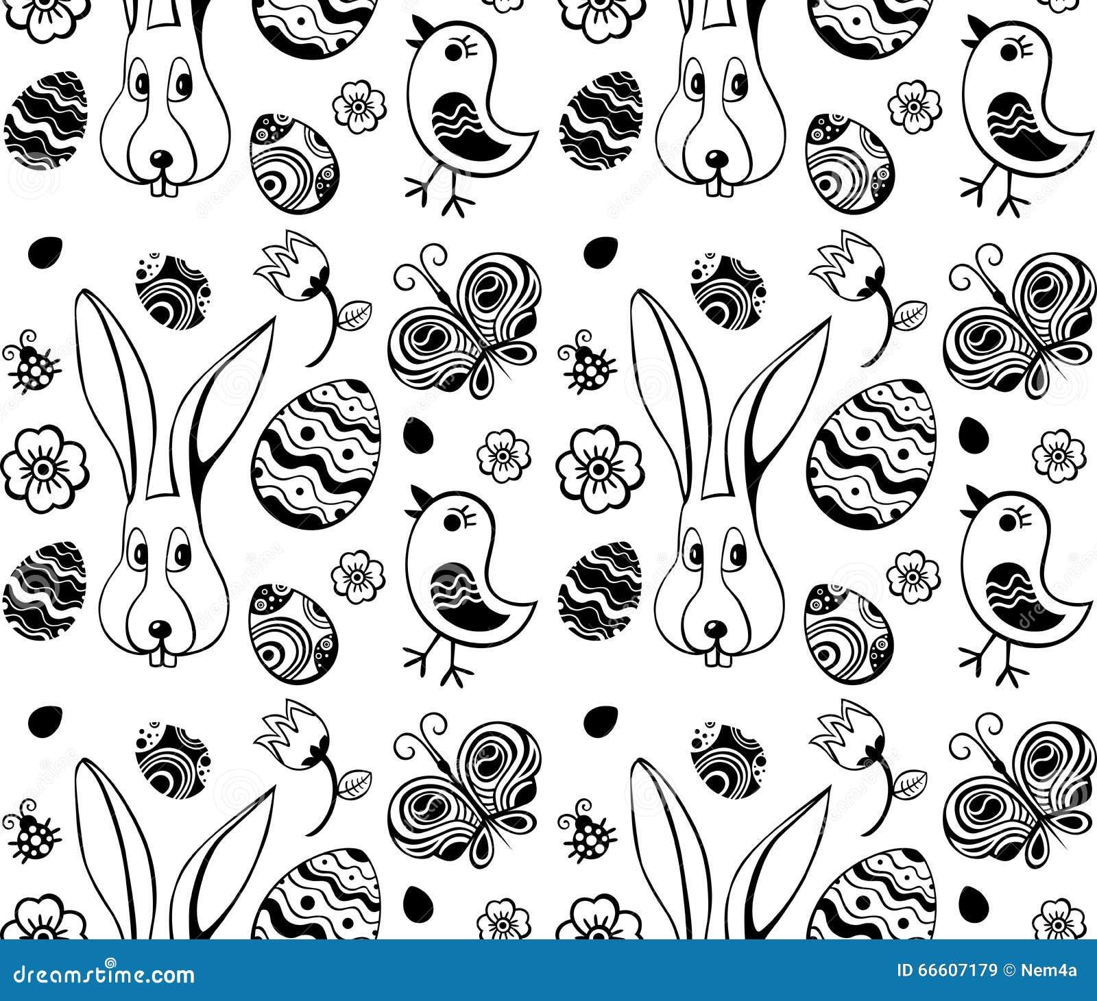 Wielkanocny ilustracja wzór