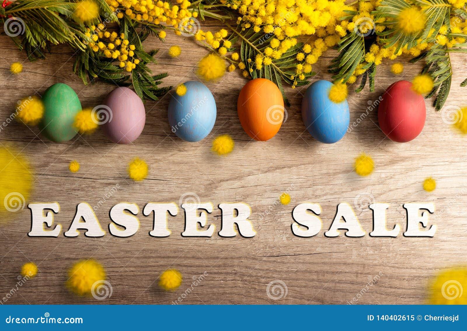 Wielkanocny sprzedaż sztandar