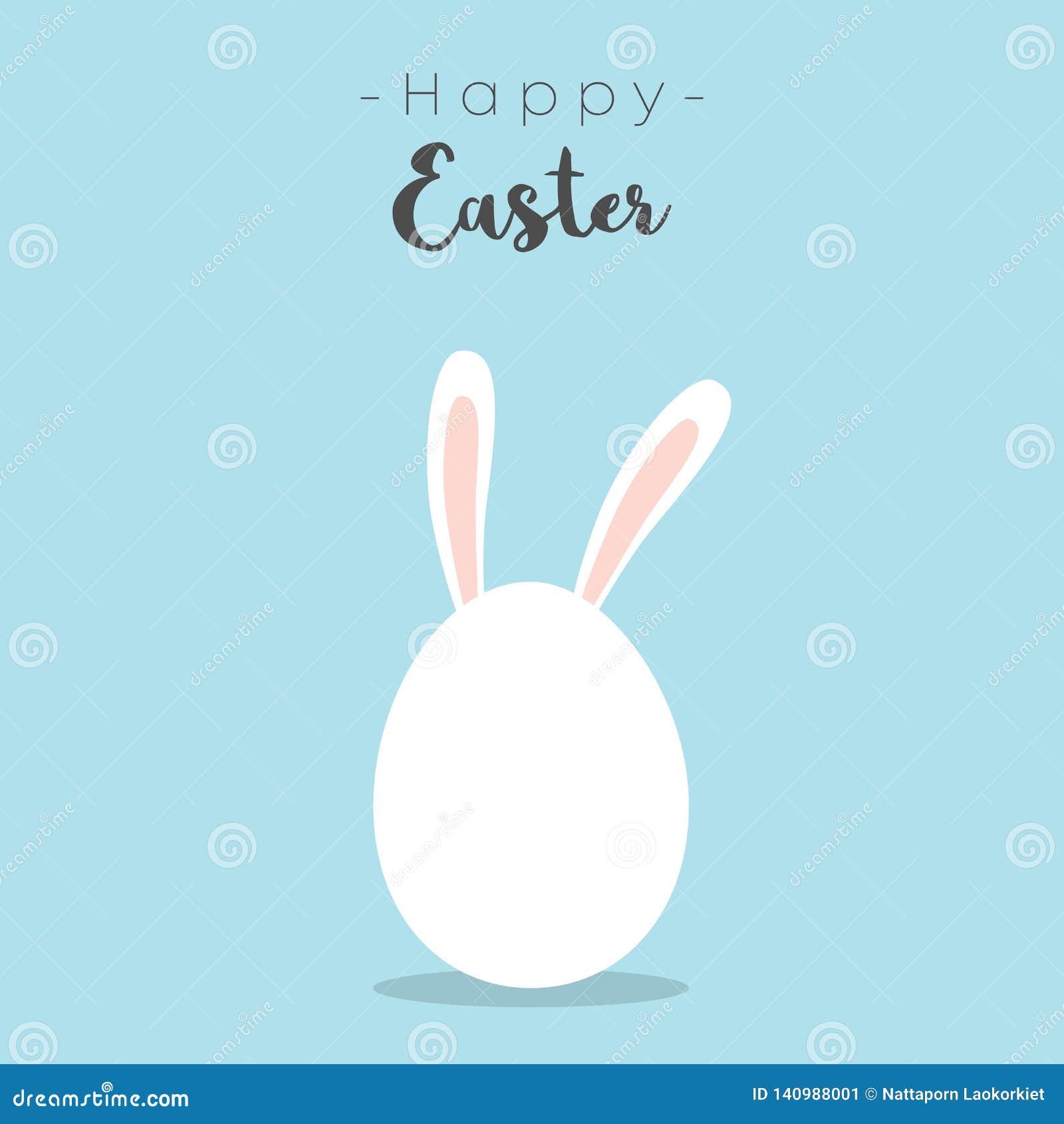 Wielkanocnych jajek wektoru ilustracja Szczęśliwy Wielkanocny dzień z kolorowymi jajkami dla Wielkanocnej wakacje zaproszenia kar