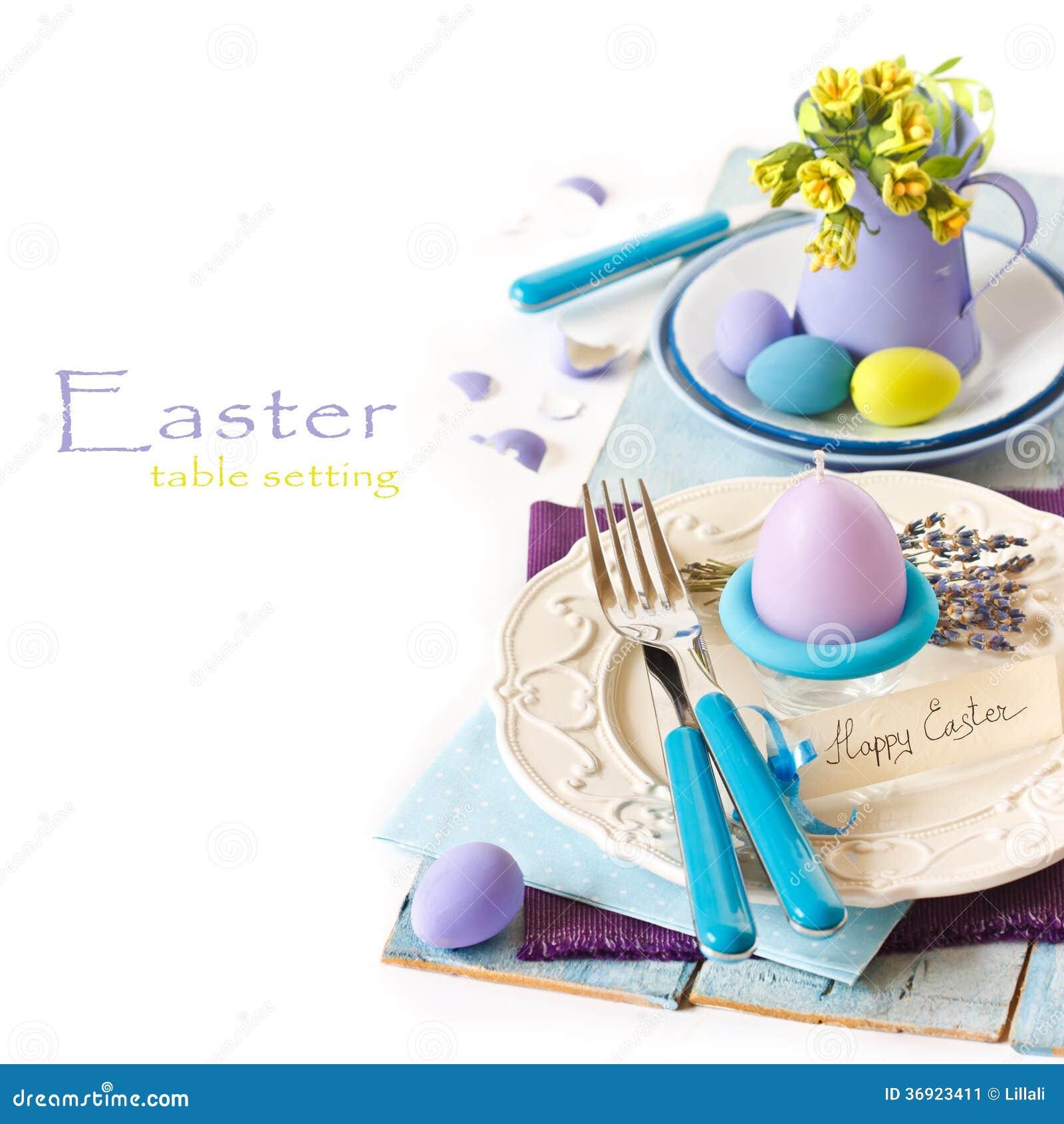 Wielkanocy stołowy położenie.