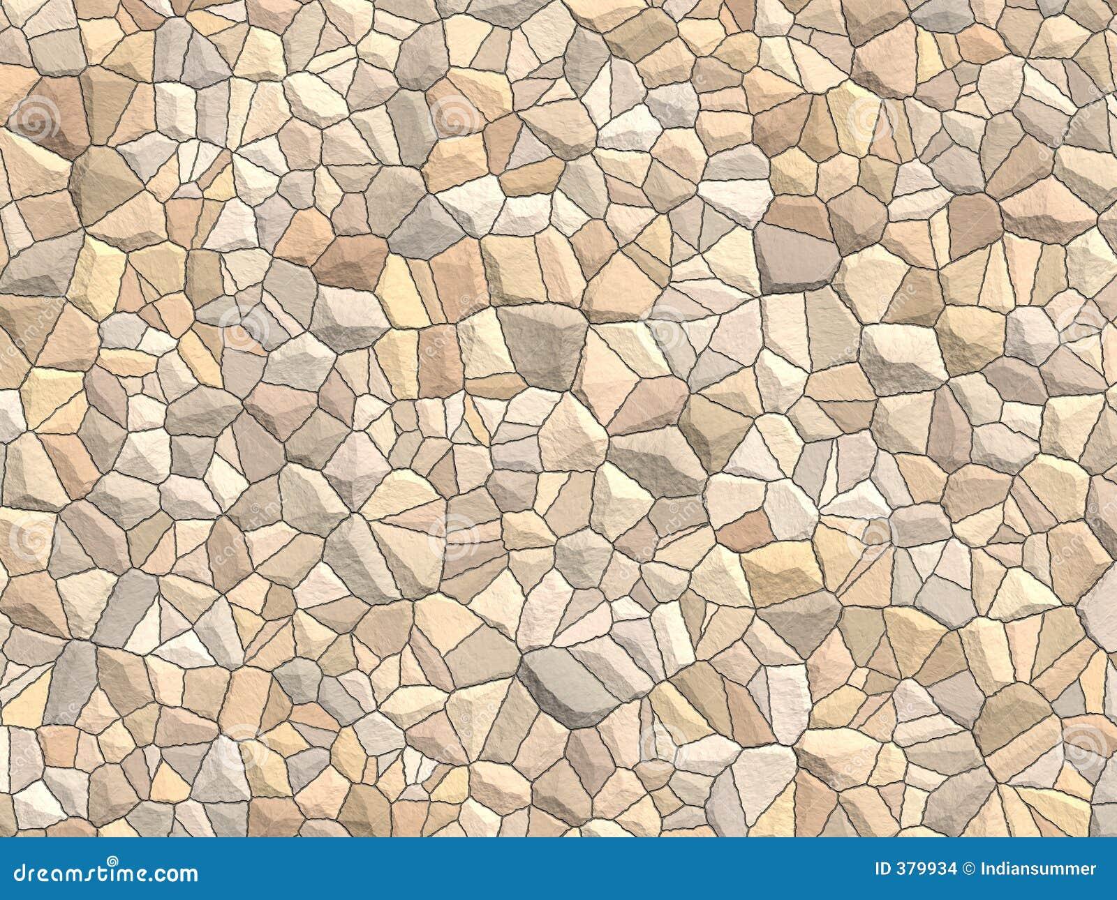 Wielki brukowiec stonewall strukturę