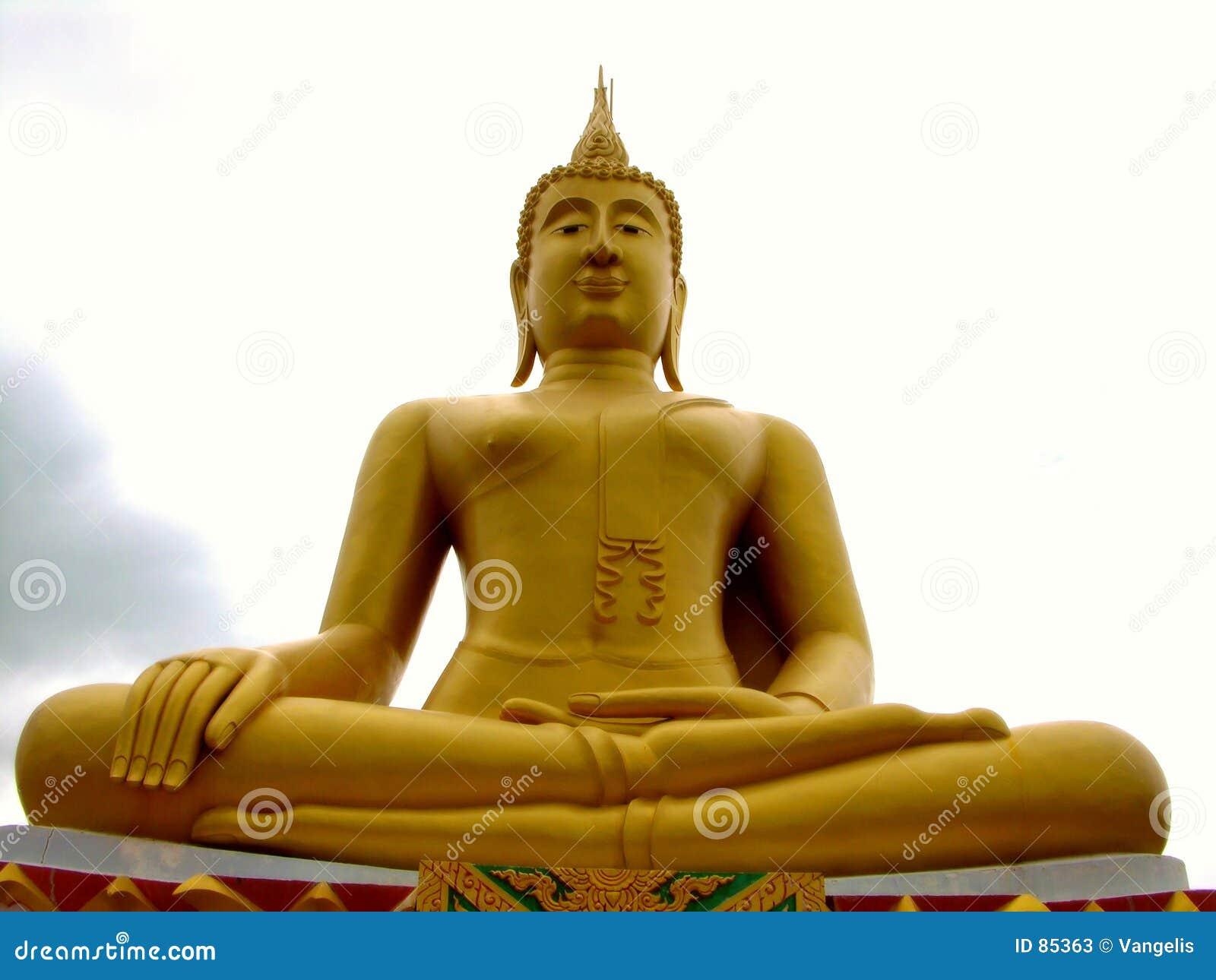 Wielki Buddo samui Thailand