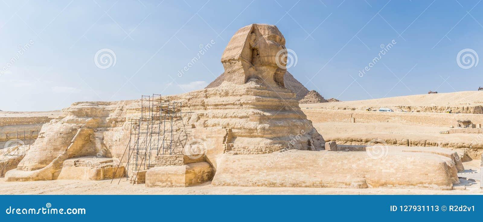 Wielki Egypt sfinks