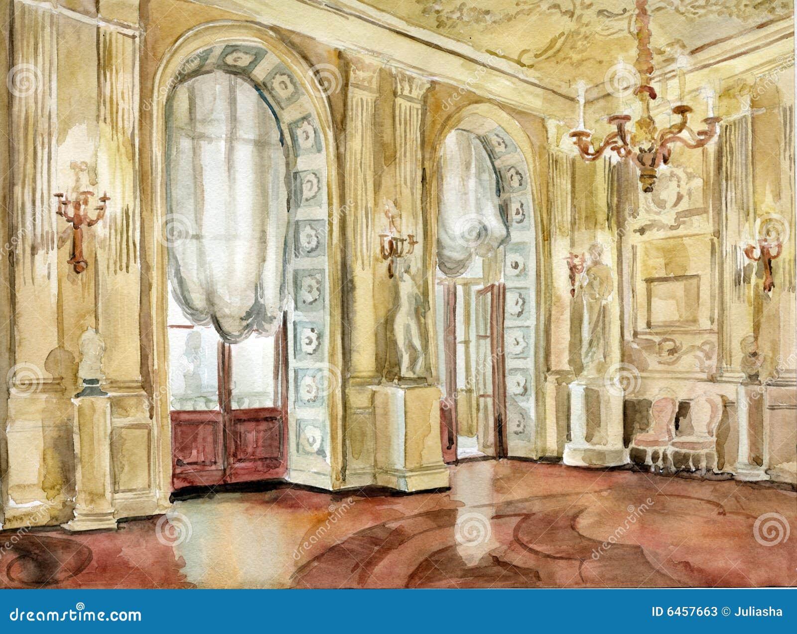 Wielki gatchina pałacu
