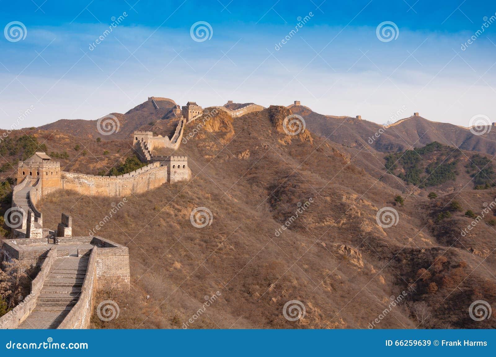 Wielki mur porcelana w jinshanling