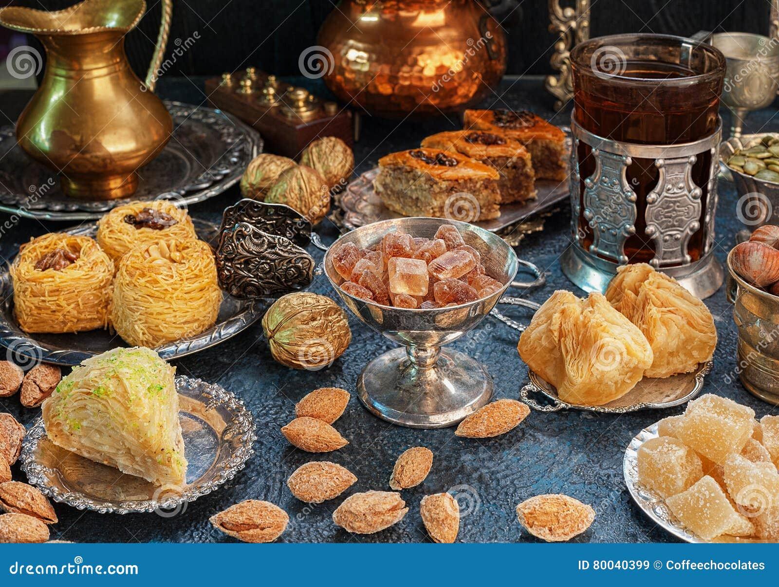 Wielki ustawiający Wschodni, Arabscy, Tureccy cukierki,