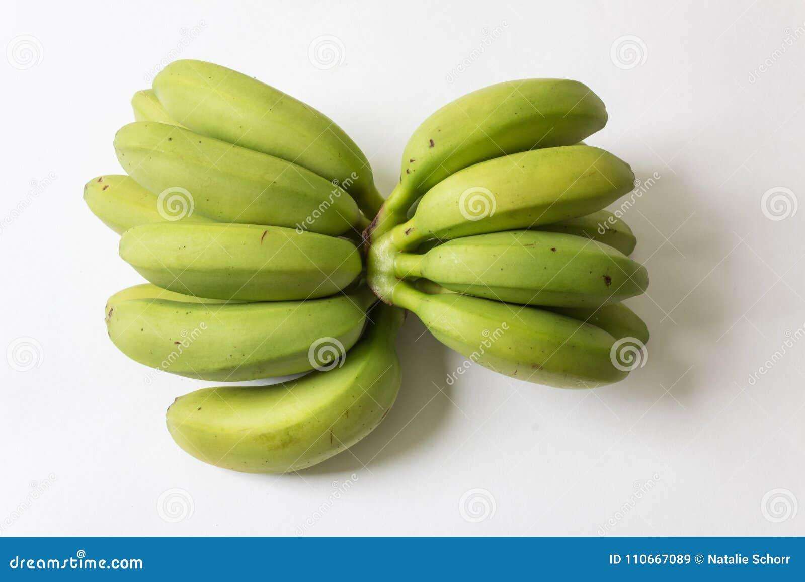 Wielkie i małe kępy dziecko banany