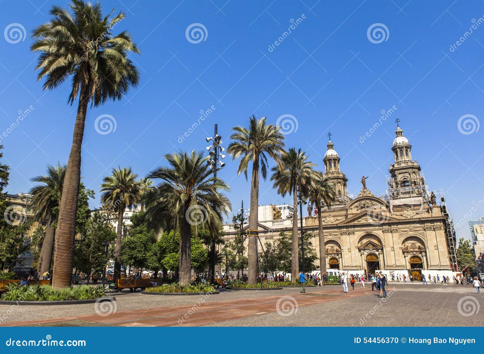 Wielkomiejska katedra Santiago, Chili