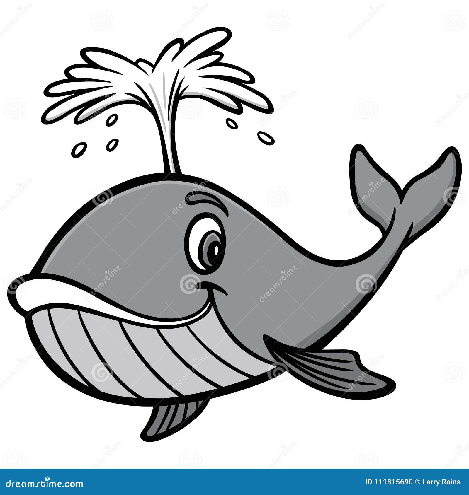 Wielorybia ilustracja