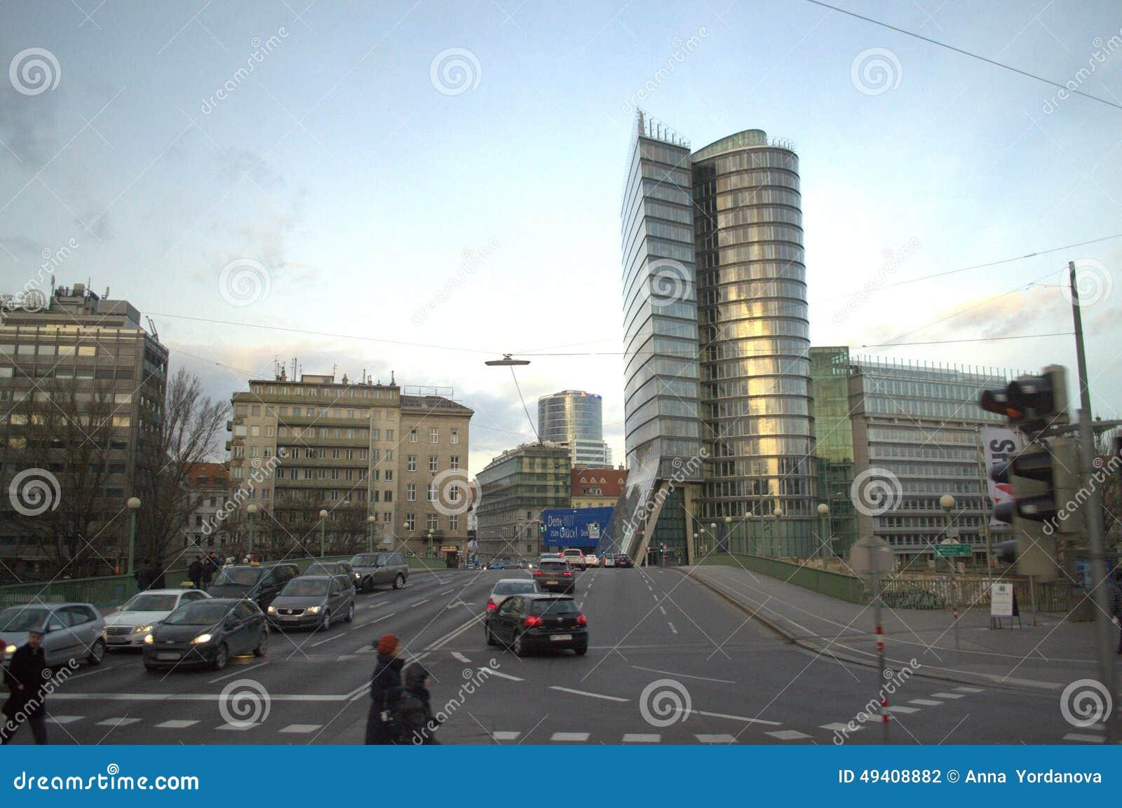 Download Wien-Boulevardansicht redaktionelles stockfotografie. Bild von wien - 49408882