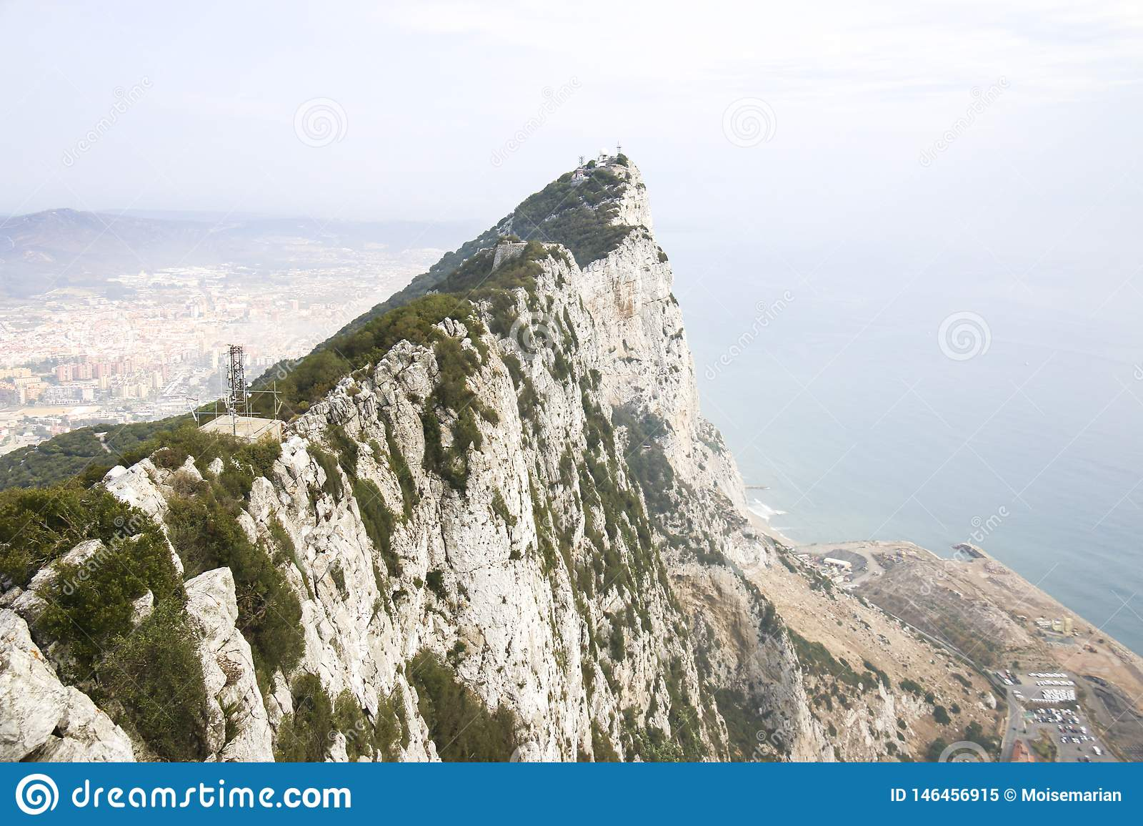 Wierzchołek Gibraltar skała, UK