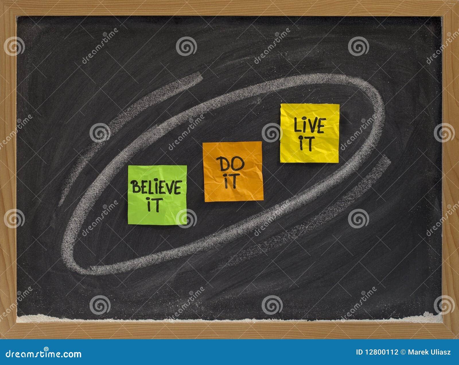 Wierzy pojęcie żyje motywacyjnego