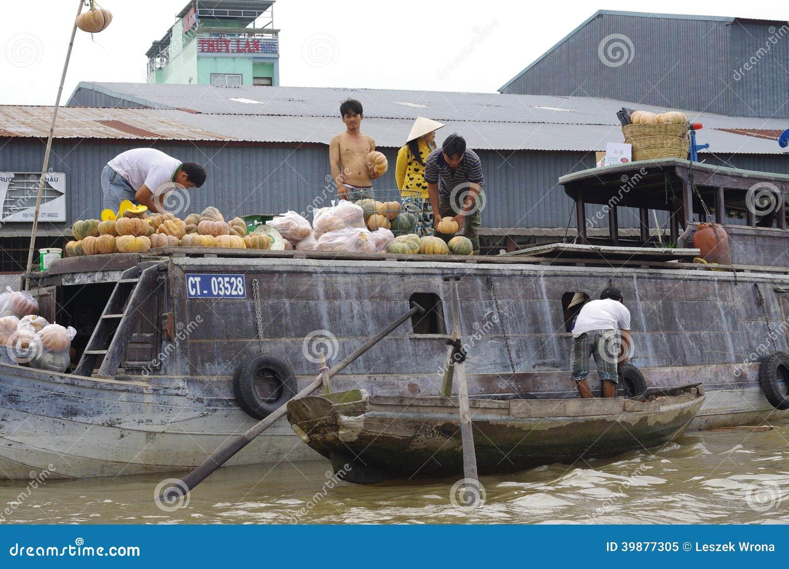 Wietnamczyka Mekong delta