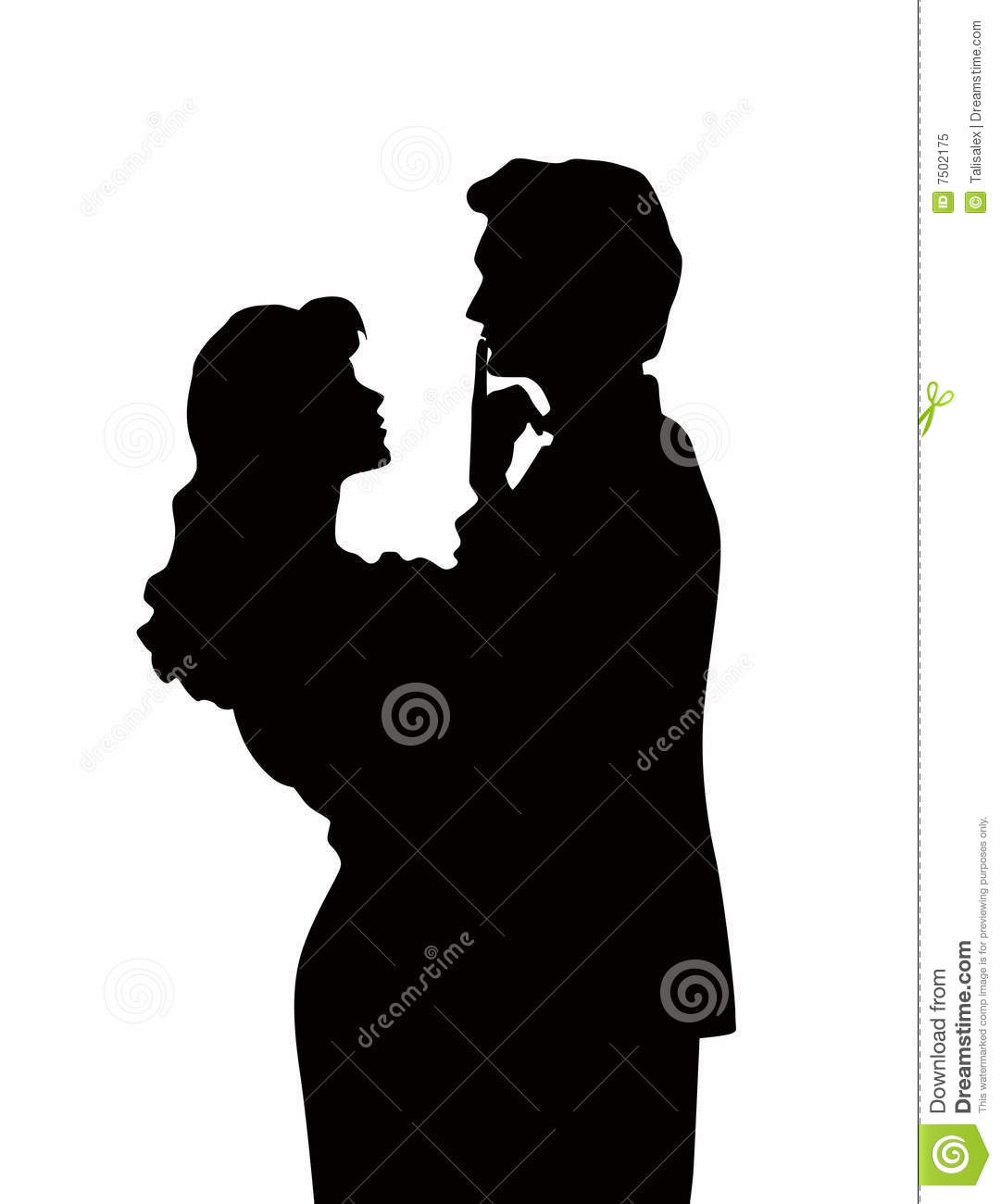 Things, speaks) Husband and wife silhouette apologise, but