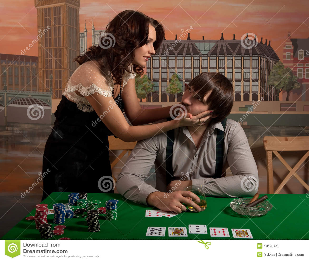 games husband and wife poker