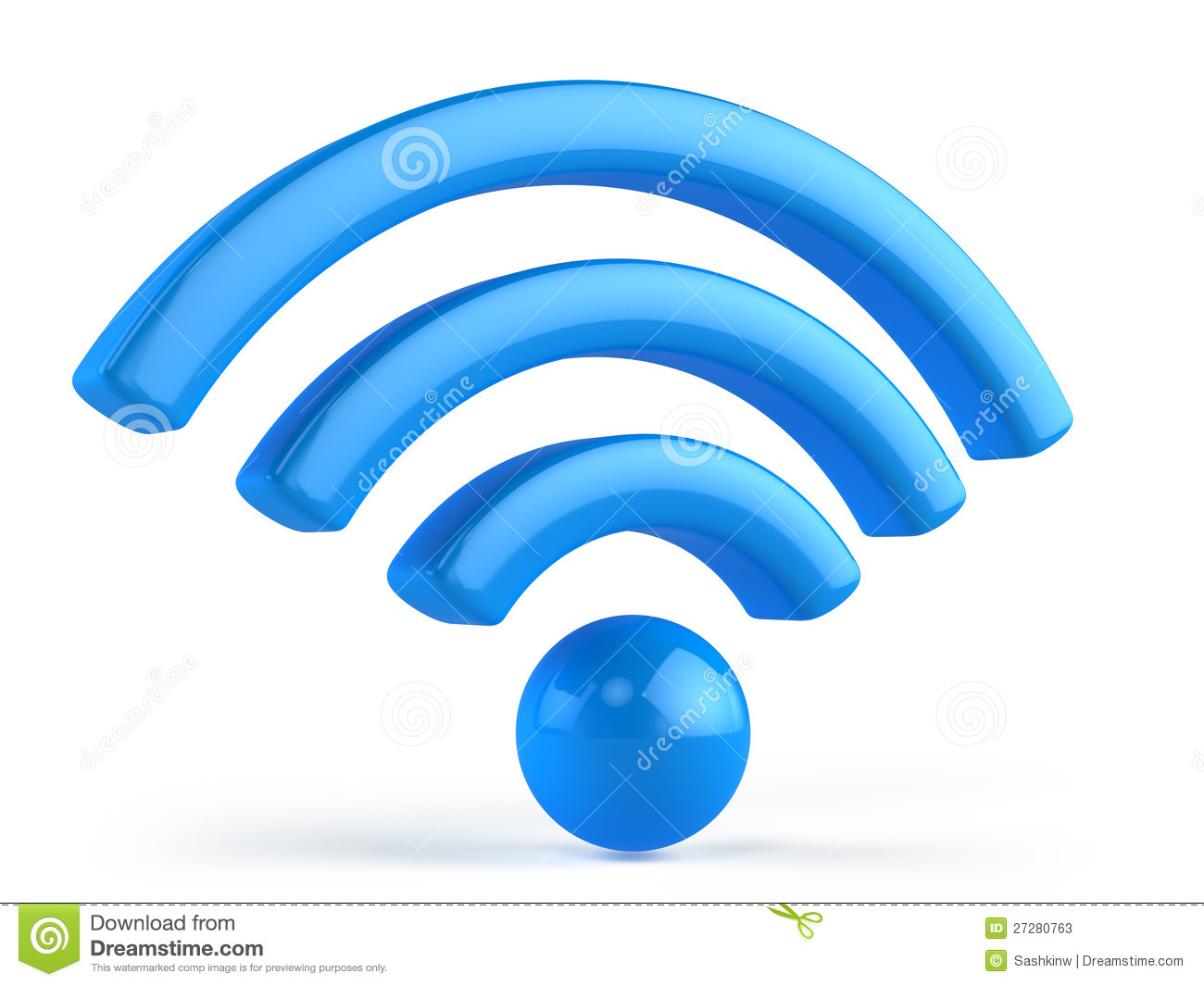 Wifi 3d Icon Stock Pho...