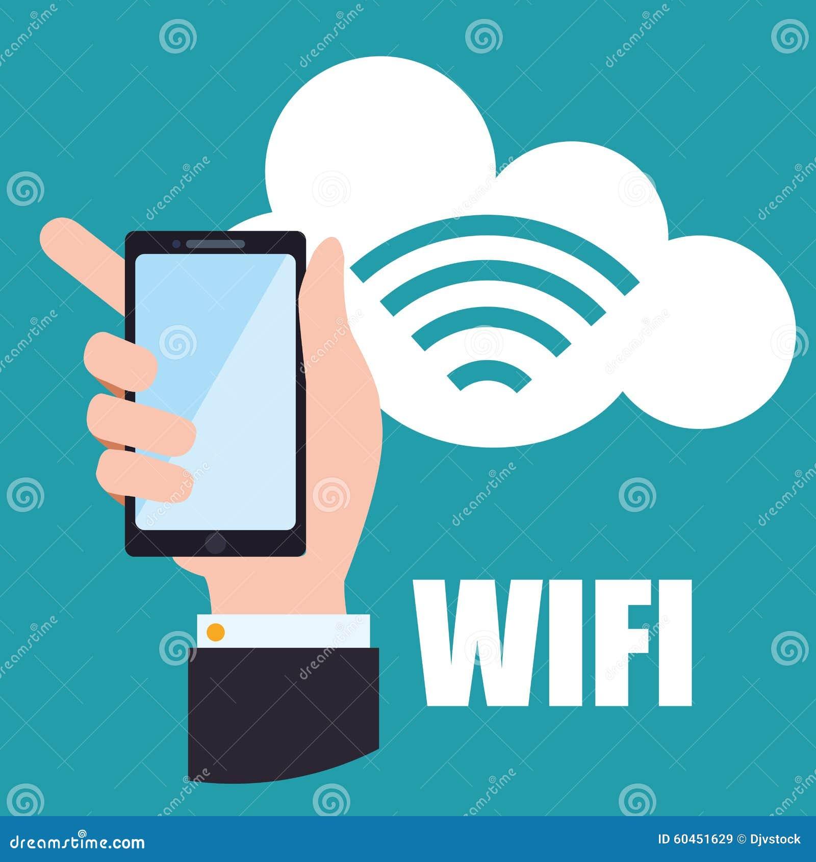 Wifi design stock vector image 60451629 for Architecture wifi