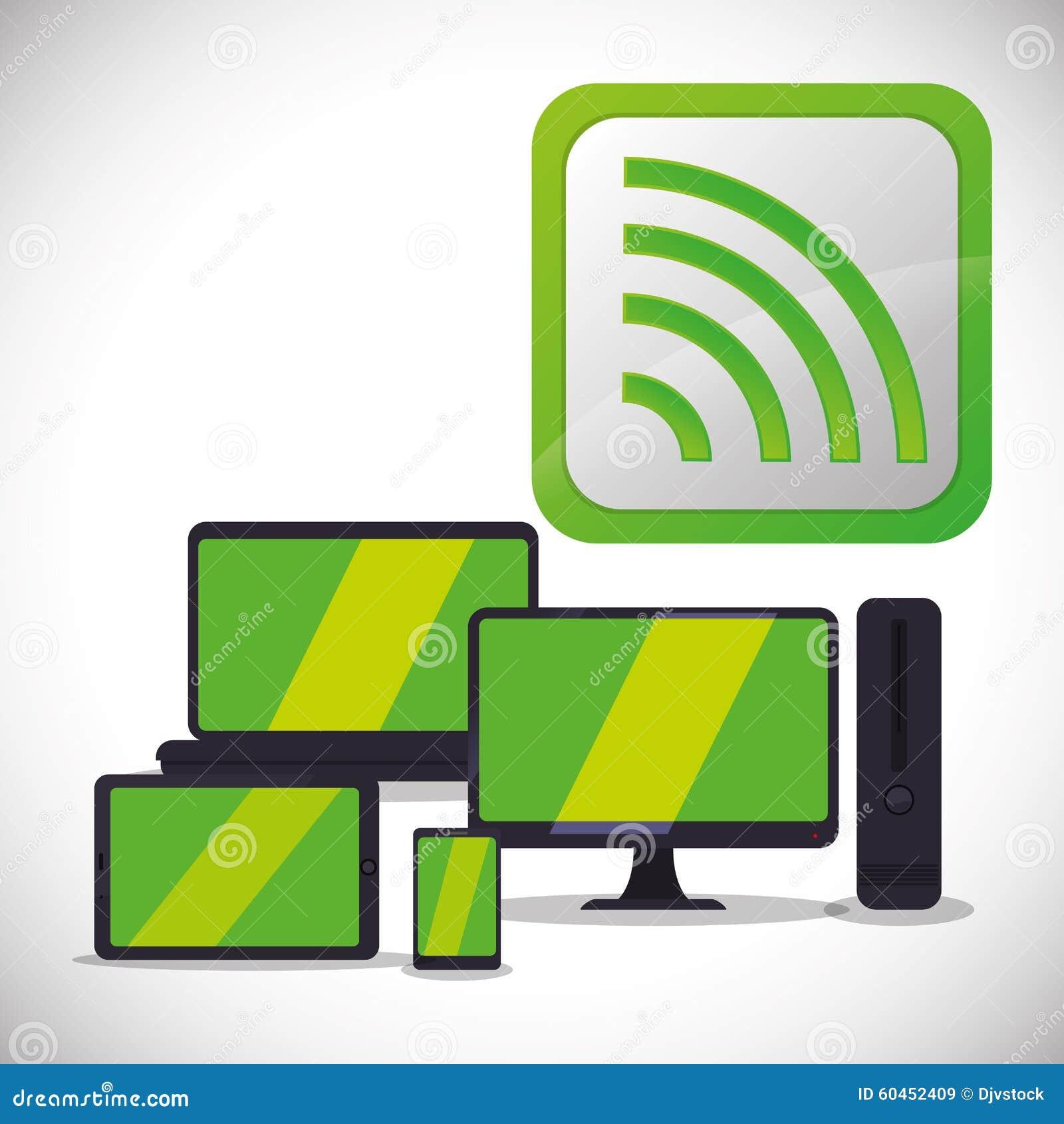 Wifi design stock vector image 60452409 for Architecture wifi