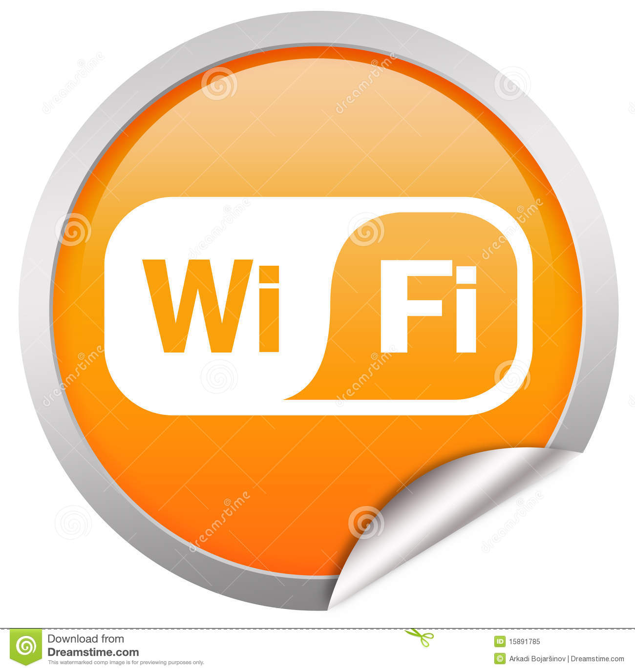 wifi icon editorial image image of logo mobile free 15891785. Black Bedroom Furniture Sets. Home Design Ideas